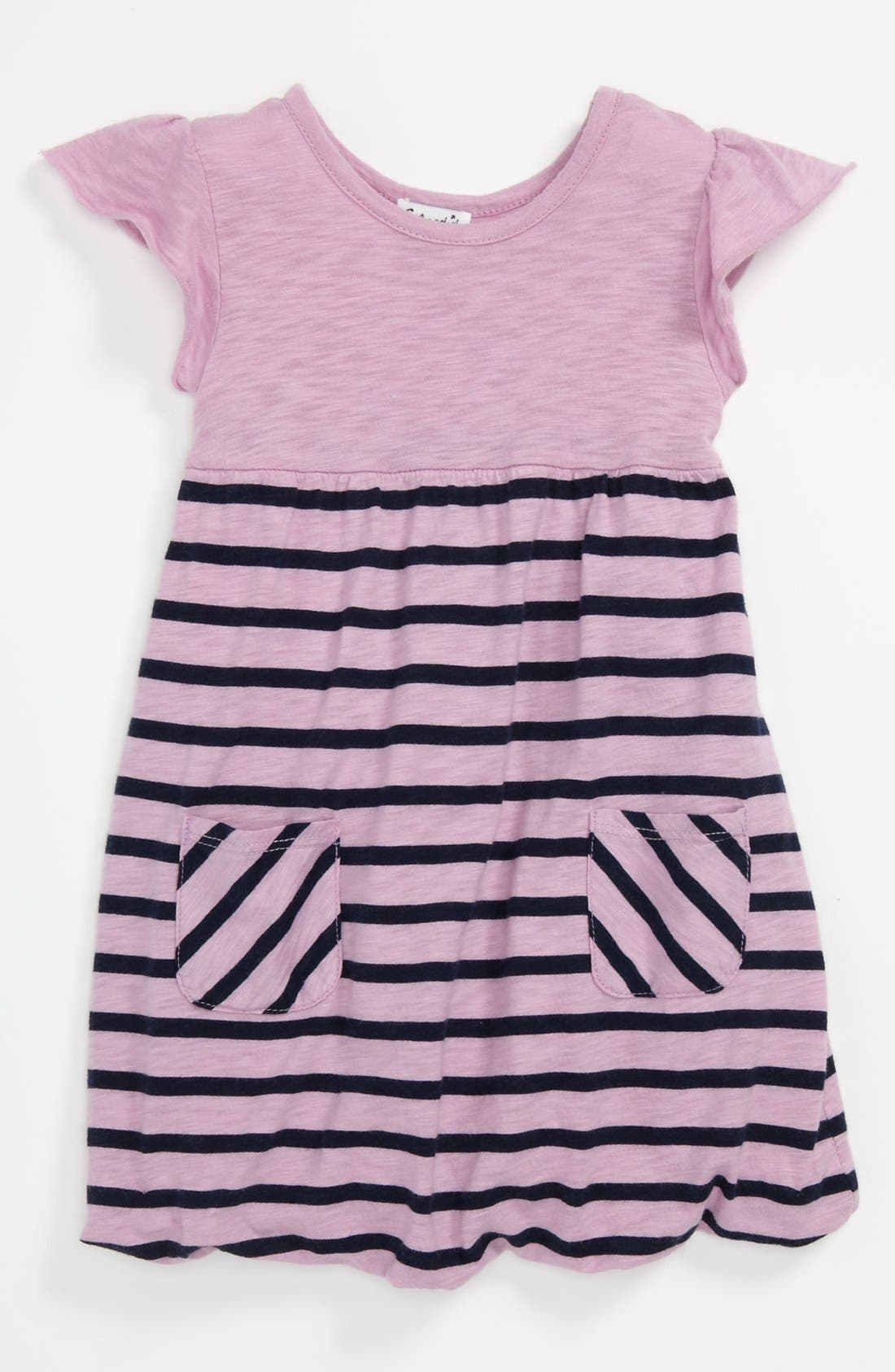 Main Image - Splendid 'Miami' Stripe Dress (Baby)