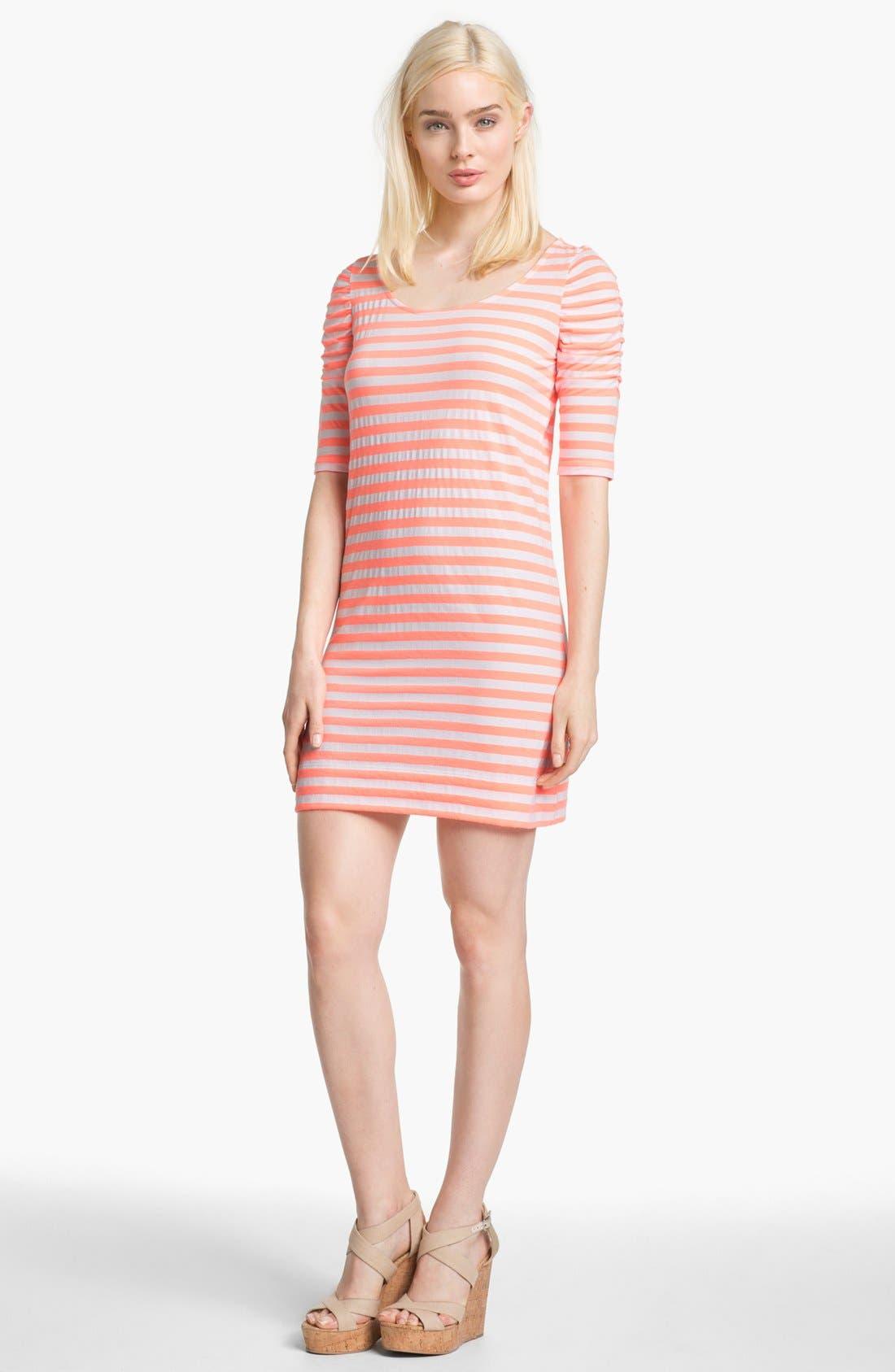 Main Image - Lilly Pulitzer® 'Kaley' Stripe T-Shirt Dress
