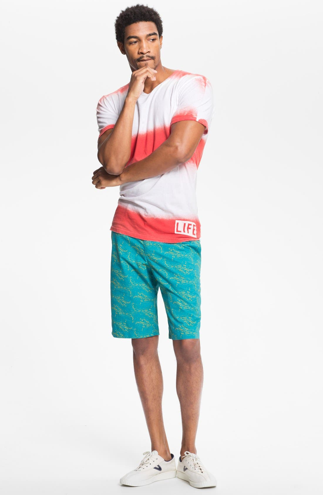 Alternate Image 4  - Altru 'Life®' Dip Dye T-Shirt
