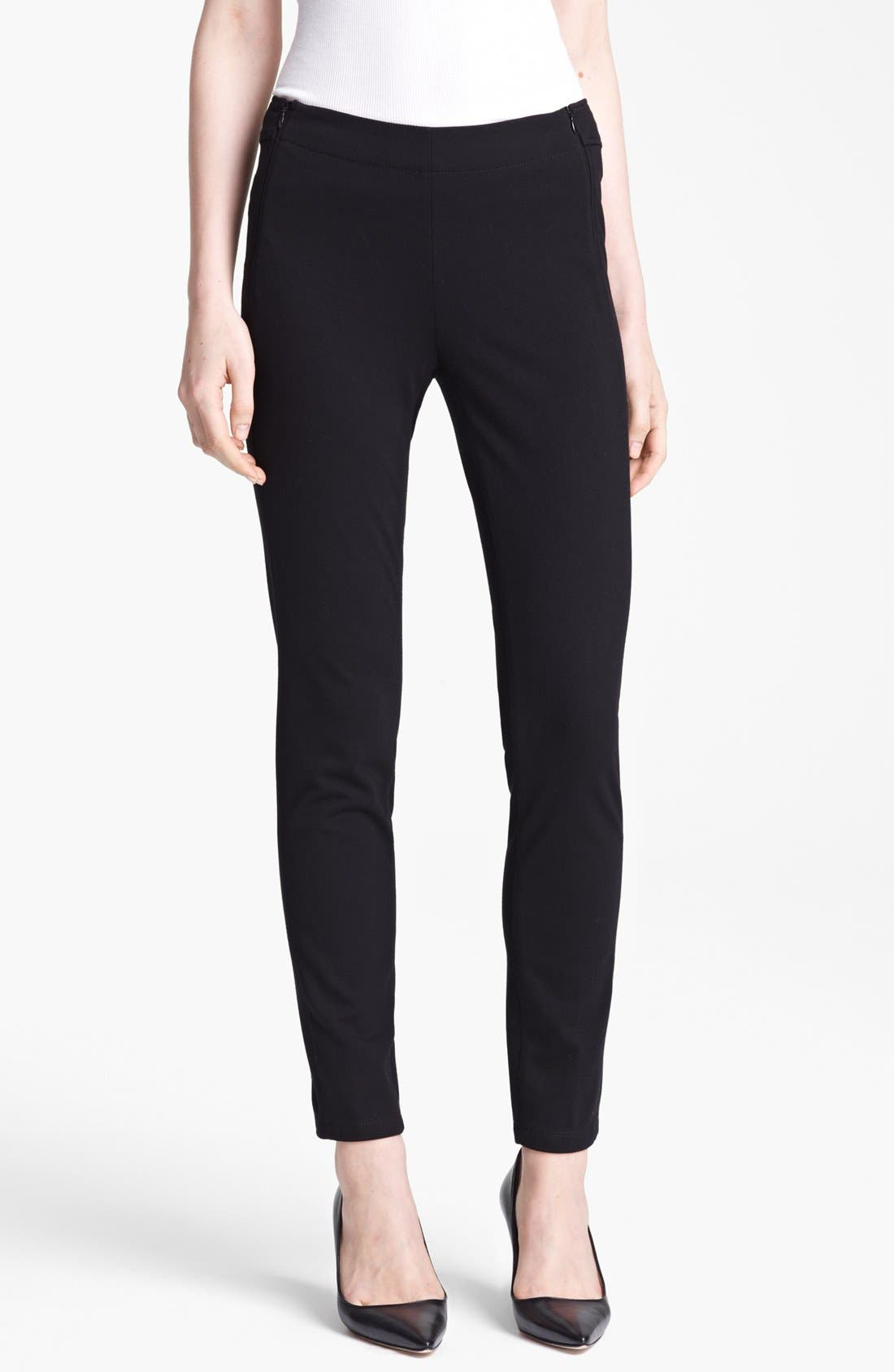 Alternate Image 1 Selected - Moschino Cheap & Chic Side Zip Leggings