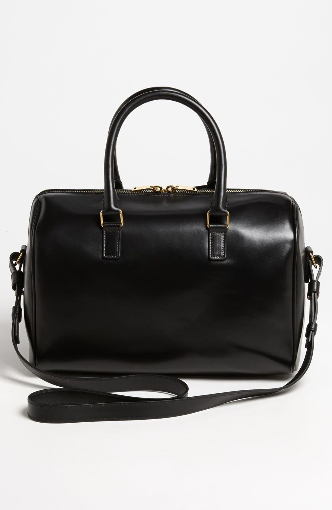 Alternate Image 4  - Saint Laurent 'Duffel 6' Leather Satchel