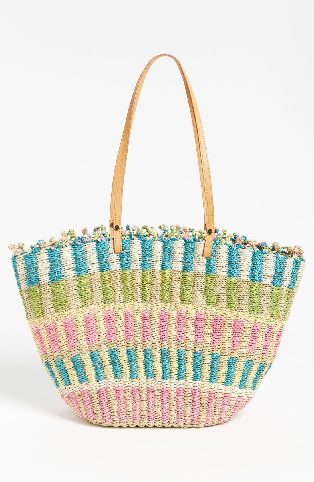 Alternate Image 4  - Tory Burch Straw Tote, Extra Large