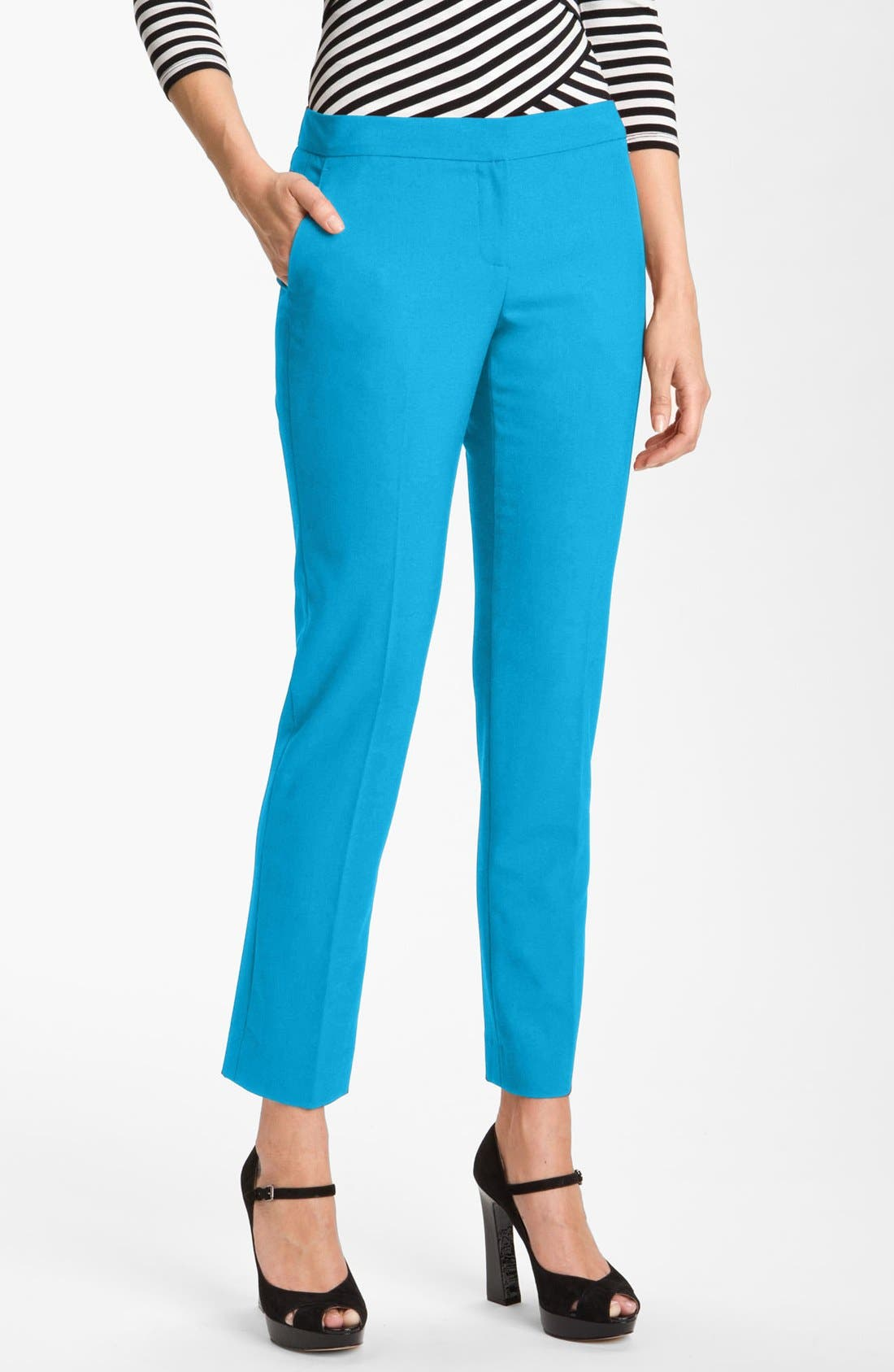Main Image - Vince Camuto Skinny Ankle Pants (Petite)