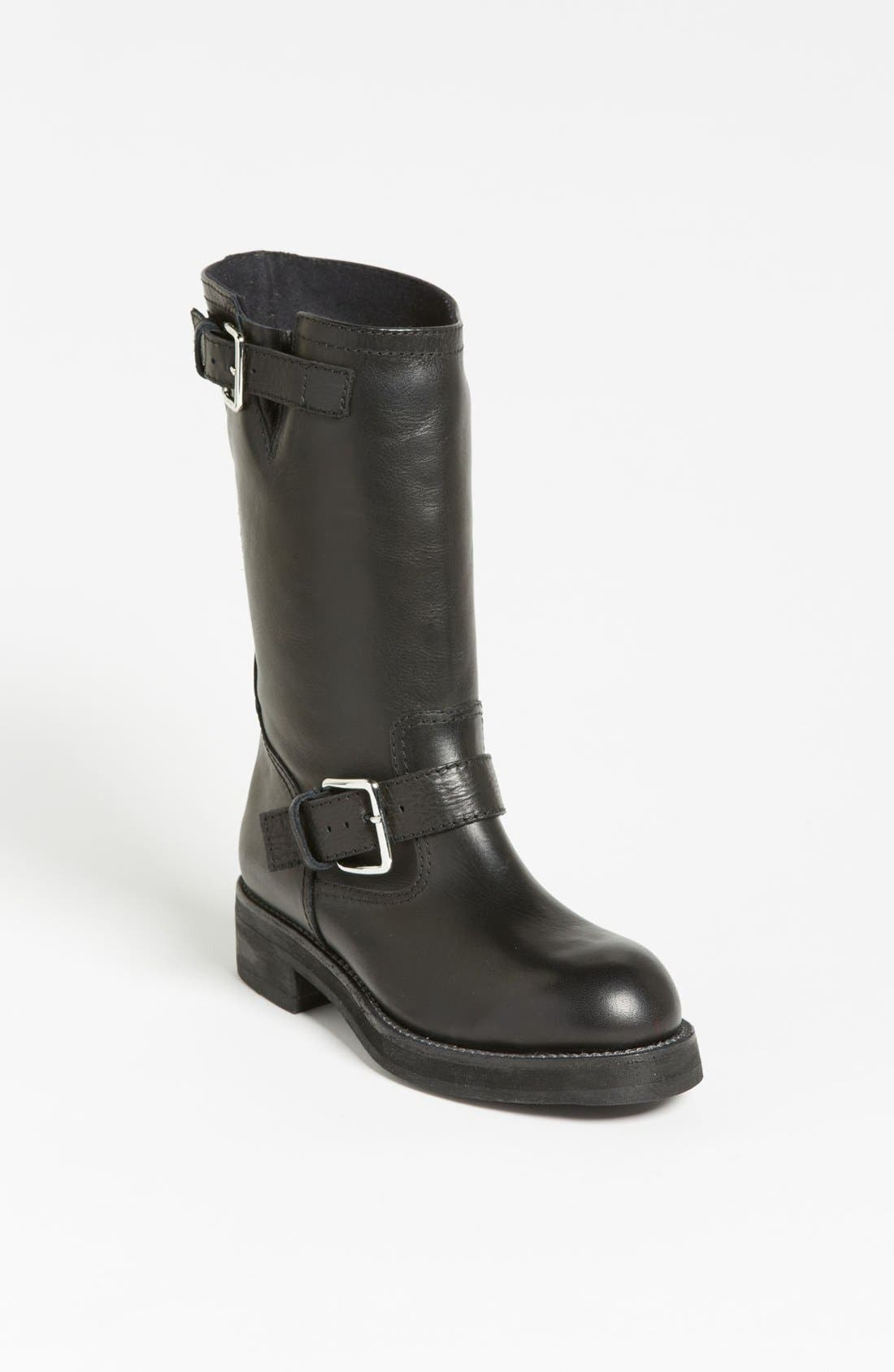 Alternate Image 1 Selected - Marni Double Buckle Moto Boot