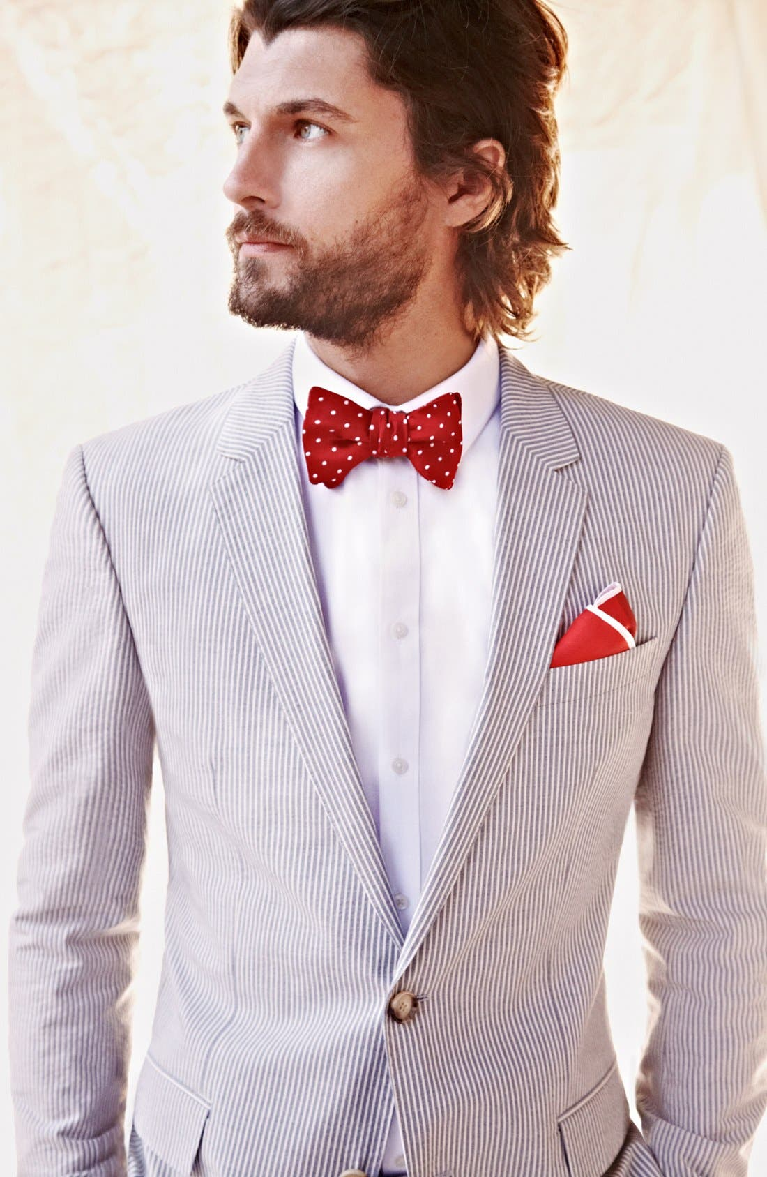 Alternate Image 6  - John W. Nordstrom Silk Bow Tie