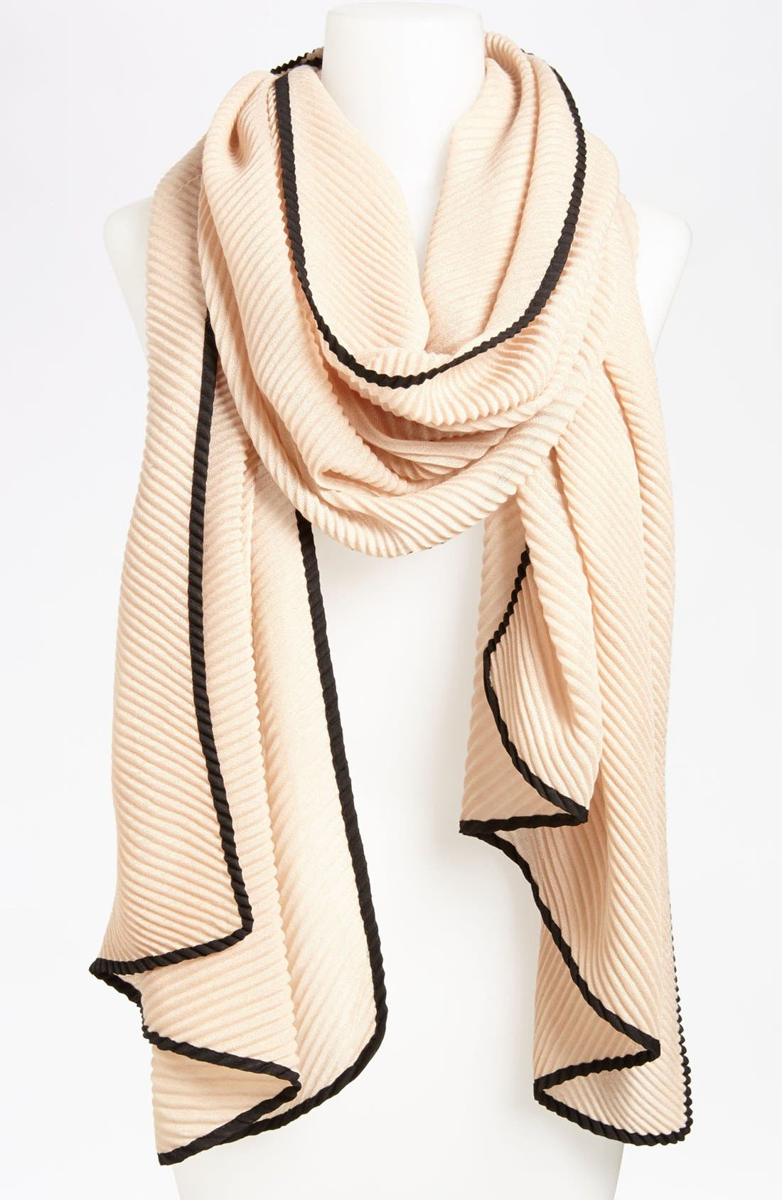 Alternate Image 1 Selected - Roffe Accessories Pleat Scarf