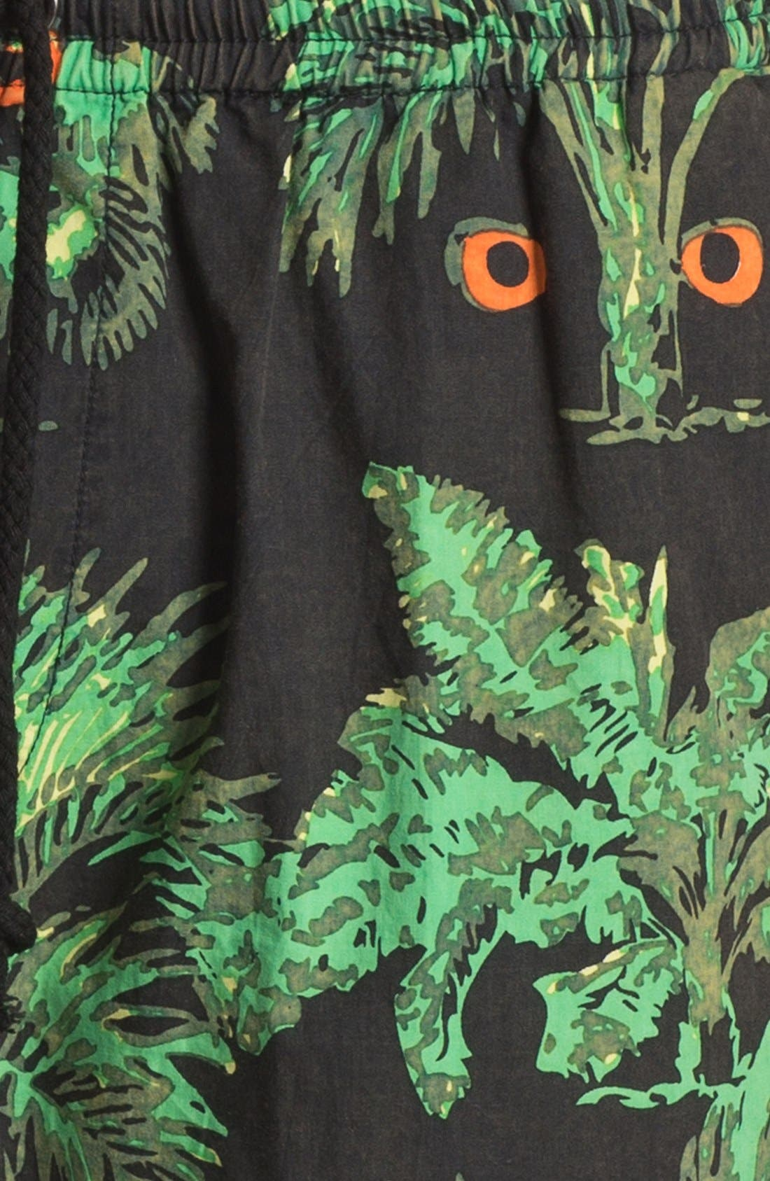 Alternate Image 3  - Vanguard 'Jungle Eyes' Print Volley Swim Trunks