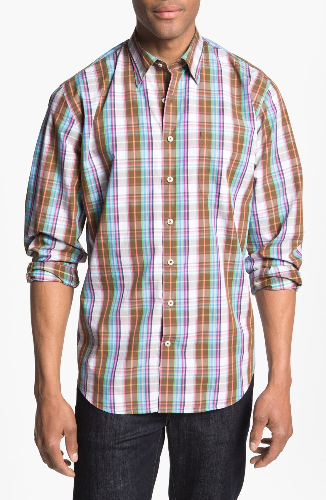 Alternate Image 1 Selected - Peter Millar 'Pinwheel' Sport Shirt