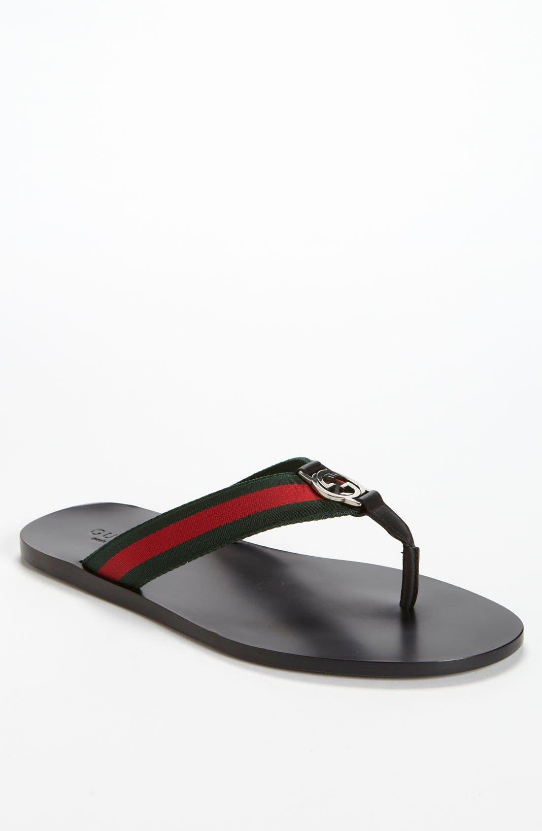 Gucci GG Line Flip Flop (Men)