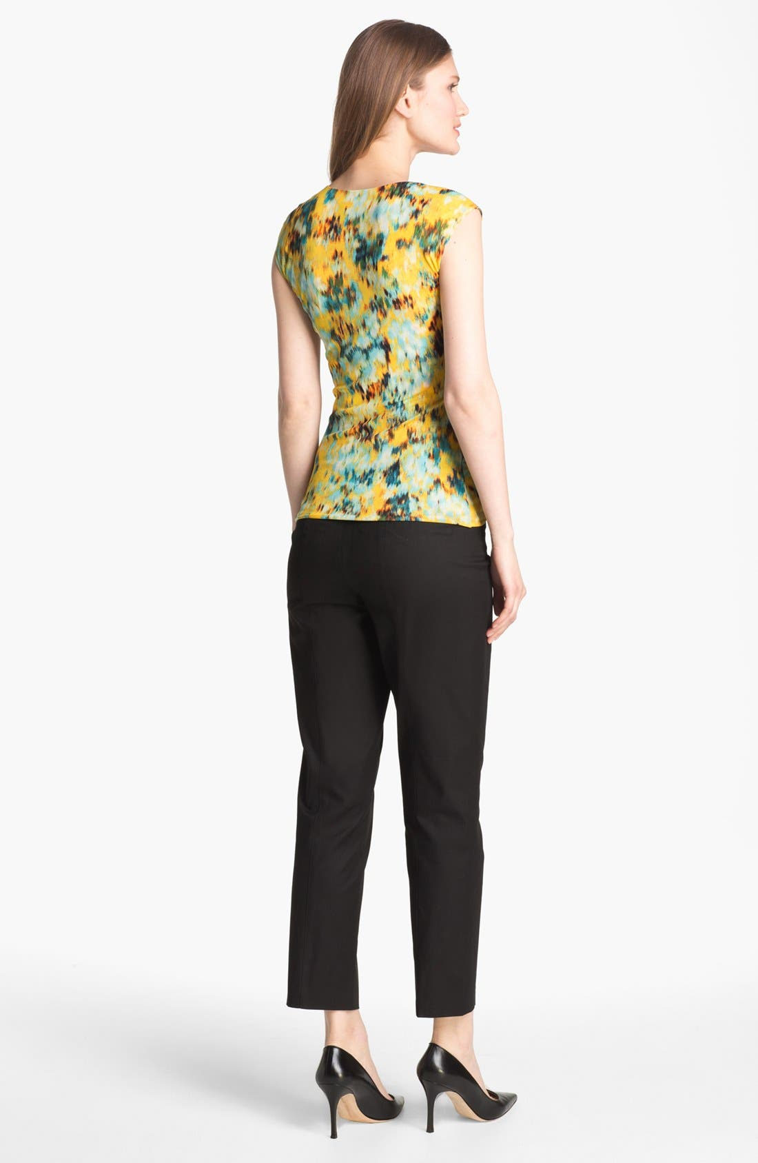Alternate Image 5  - Classiques Entier® 'New Chicca' Tab Front Pants