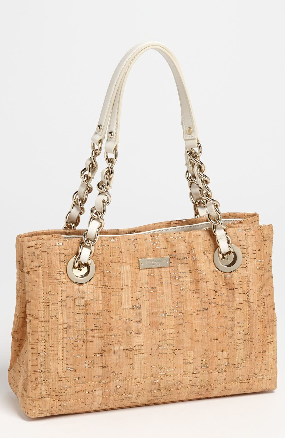 Alternate Image 1 Selected - kate spade new york 'small helena' cork tote