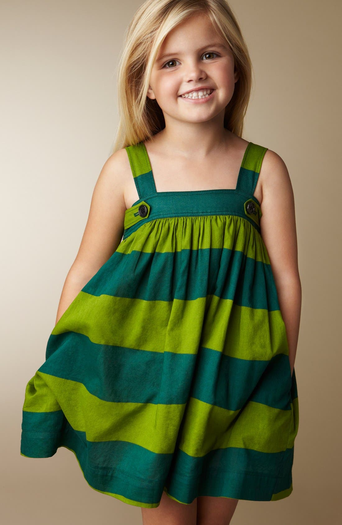 Alternate Image 2  - Burberry 'Dusty' Dress (Little Girls & Big Girls)
