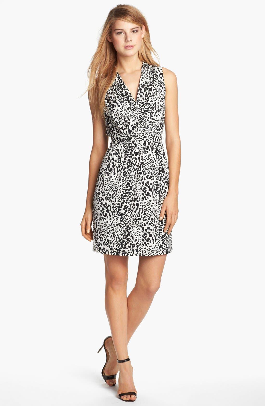 Alternate Image 1 Selected - Donna Ricco Print Jersey Dress