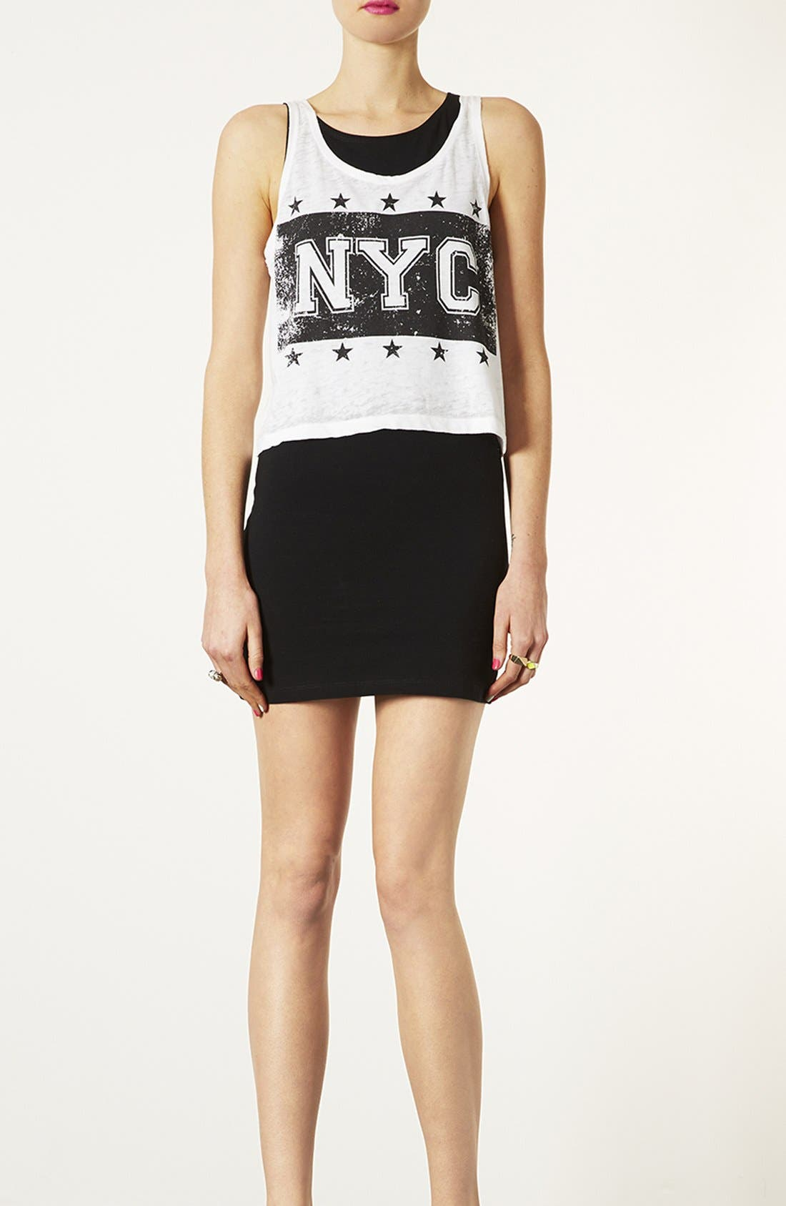 Alternate Image 1 Selected - Topshop Body-Con Dress