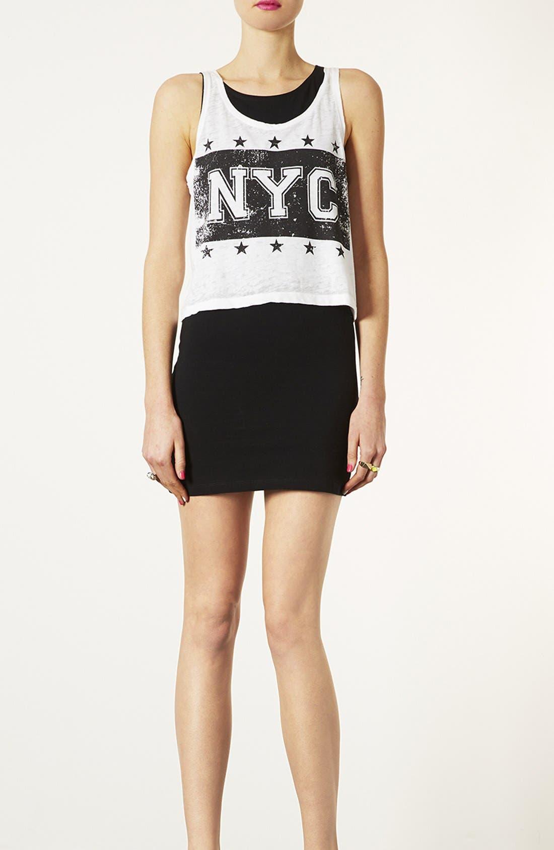 Main Image - Topshop Body-Con Dress