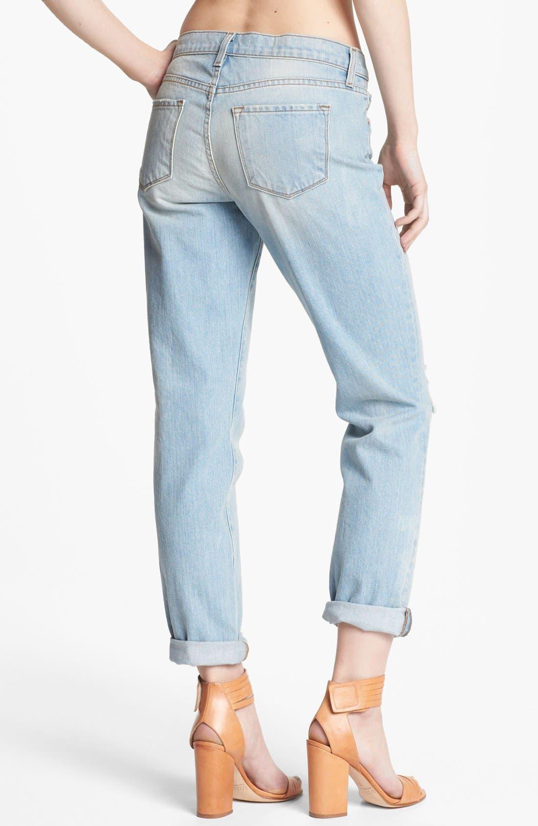 Alternate Image 2  - J Brand 'Aidan' Slouchy Boyfriend Jeans (Meadow)