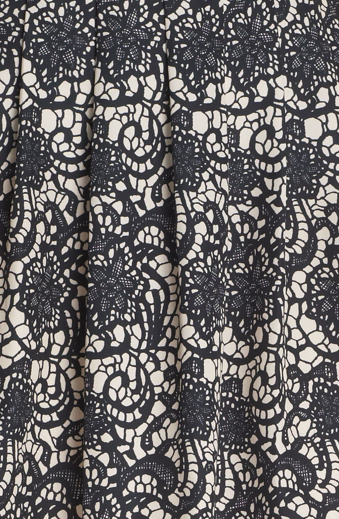 Alternate Image 3  - Hinge® Print Pleated Skirt