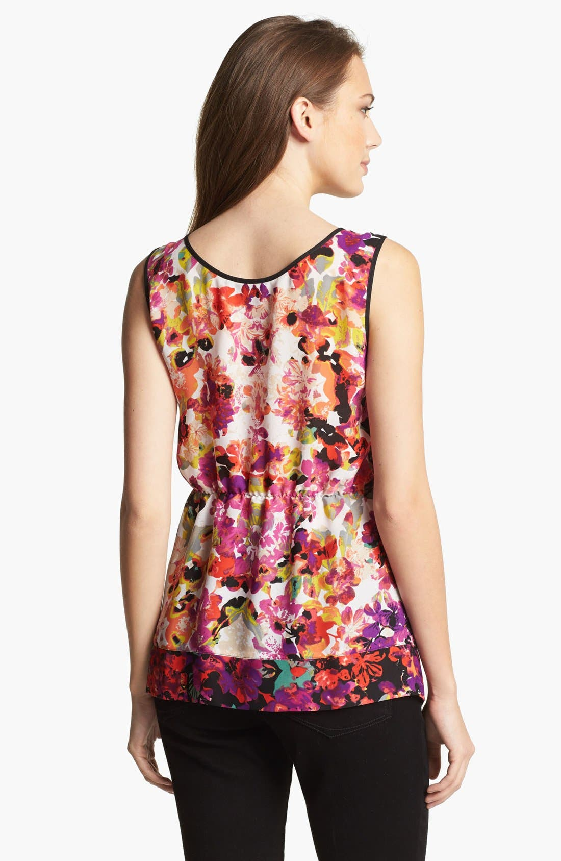 Alternate Image 2  - Nic + Zoe 'Fuego' Sleeveless Blouse