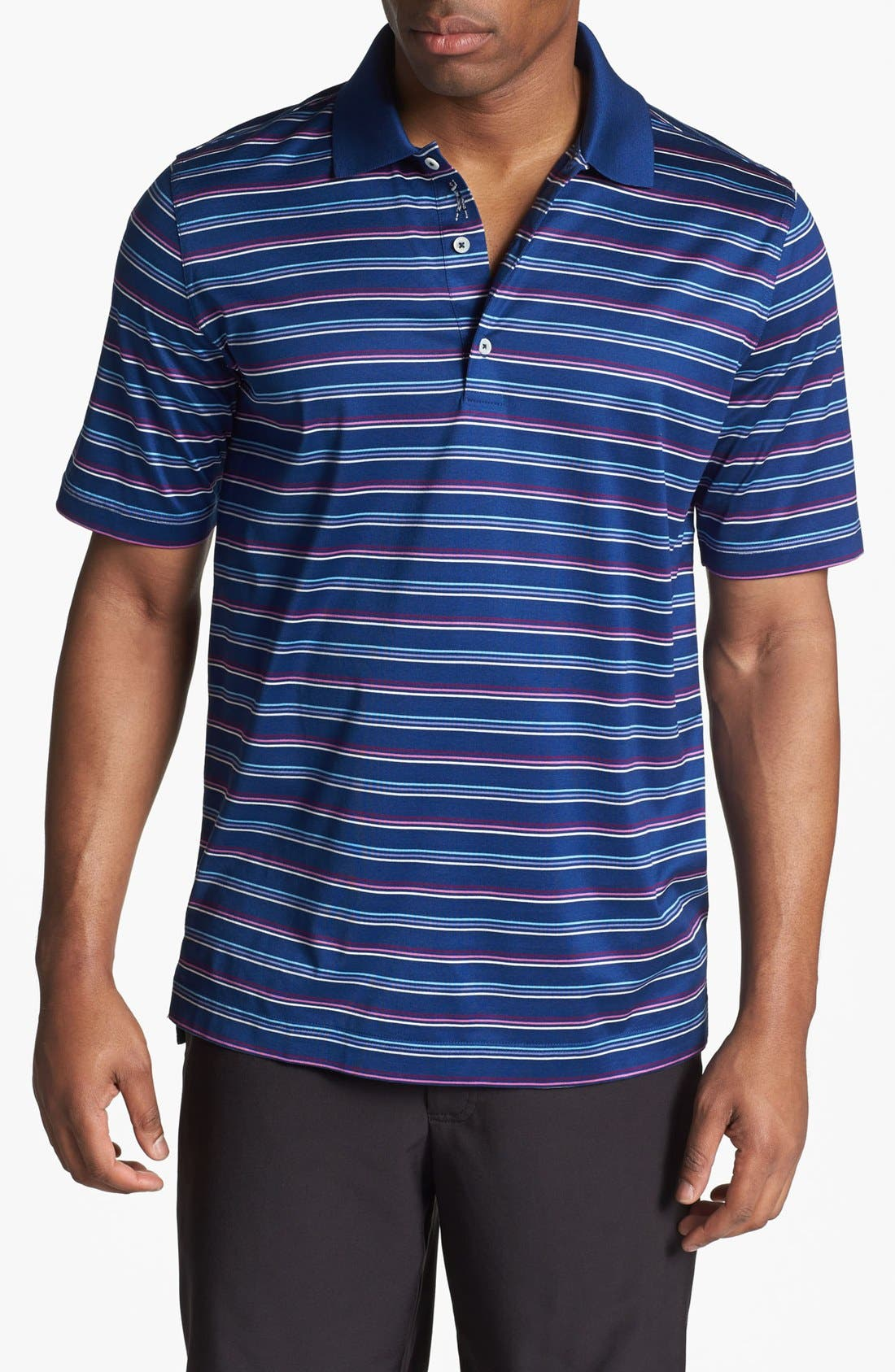 Alternate Image 1 Selected - Bobby Jones 'Triple Bar' Polo