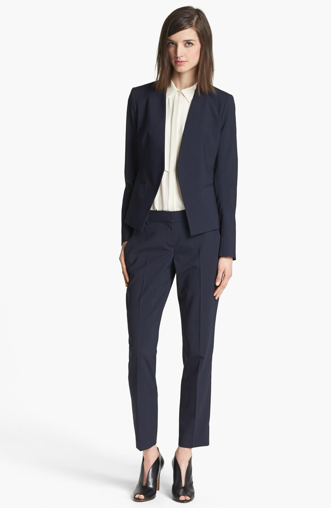 Alternate Image 4  - Theory 'Testra' Stretch Wool Trousers