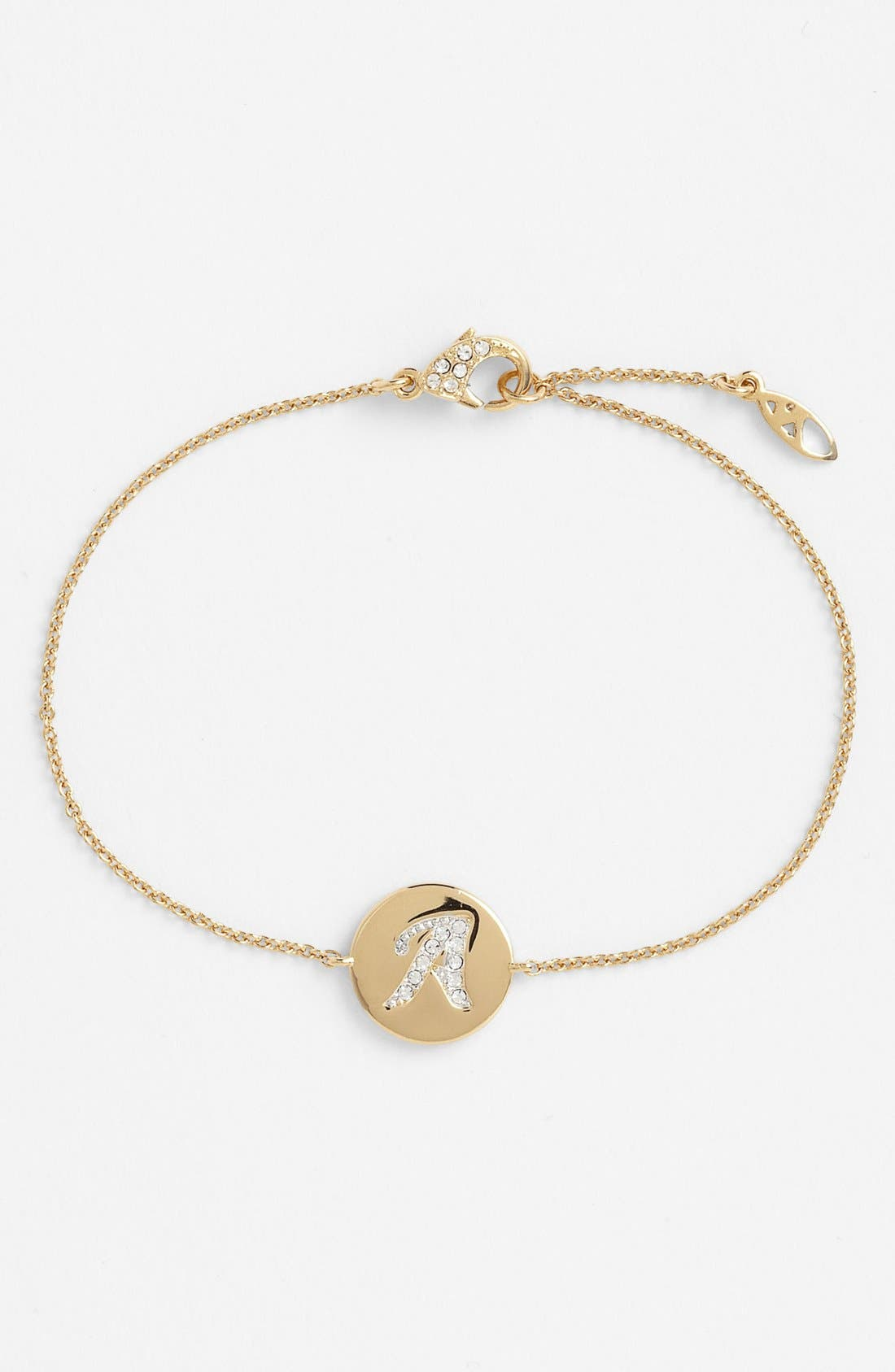 Alternate Image 1 Selected - Nadri Boxed Initial Station Bracelet (Nordstrom Exclusive)