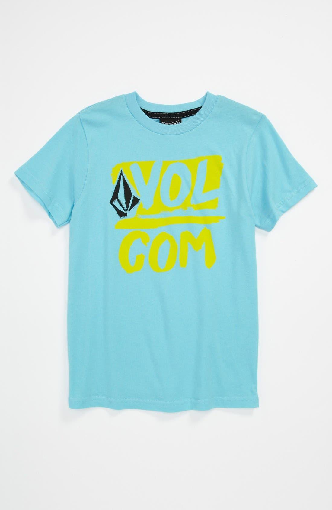 Alternate Image 1 Selected - Volcom 'Linked Up' T-Shirt (Little Boys)