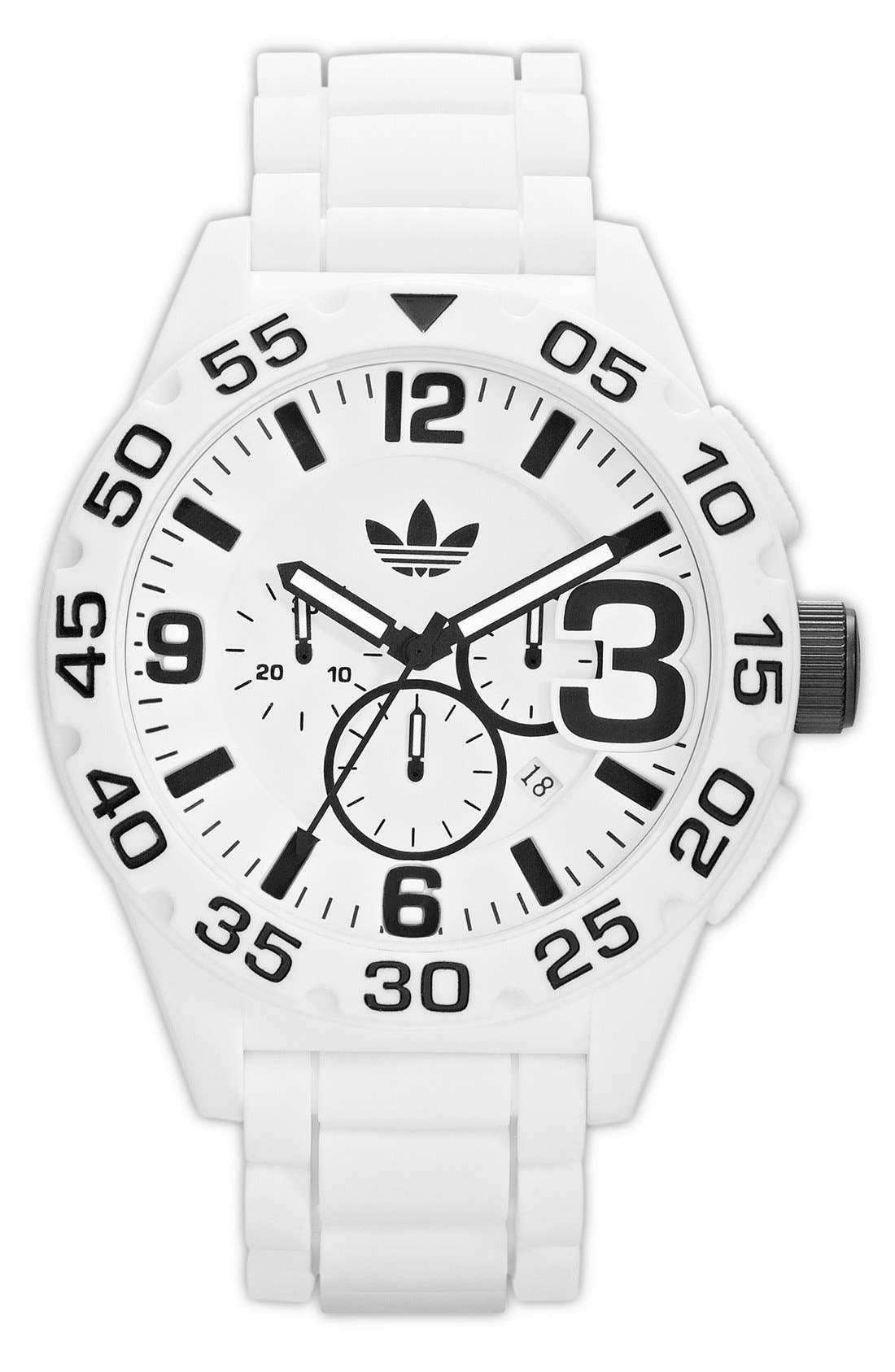 Alternate Image 1 Selected - adidas Originals 'Newburgh' Chronograph Watch, 48mm