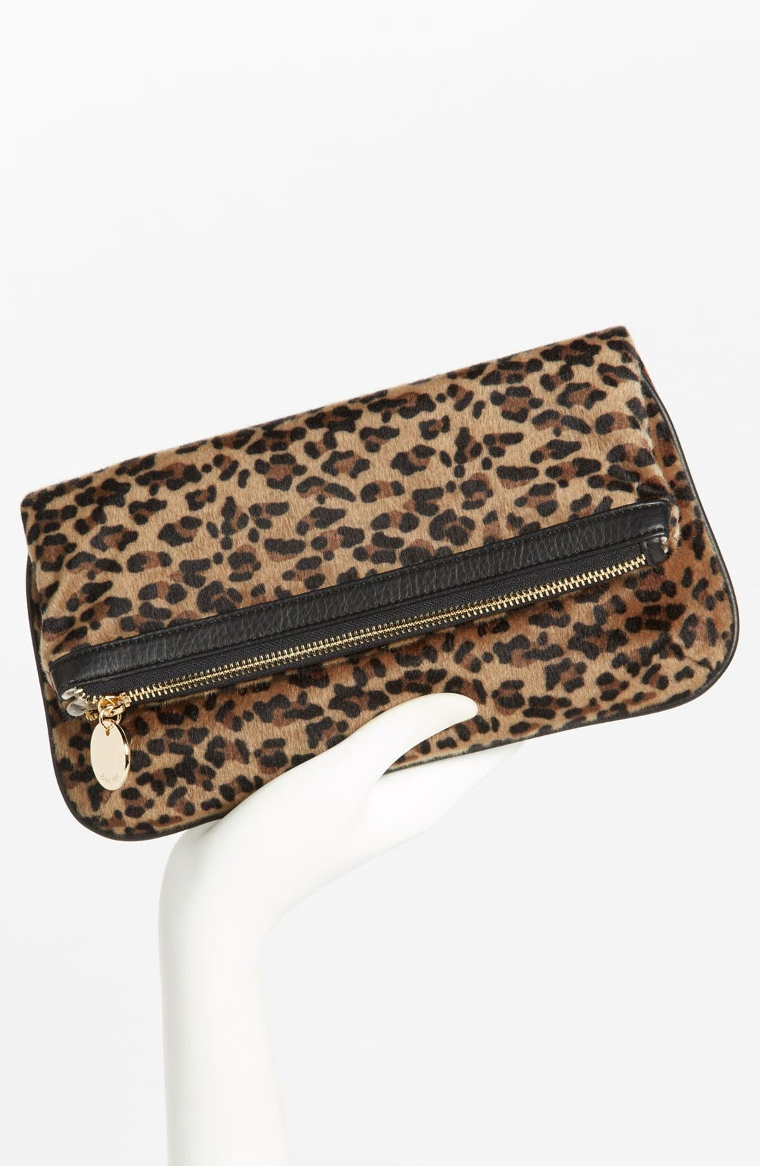 Alternate Image 2  - Deux Lux Faux Fur Clutch