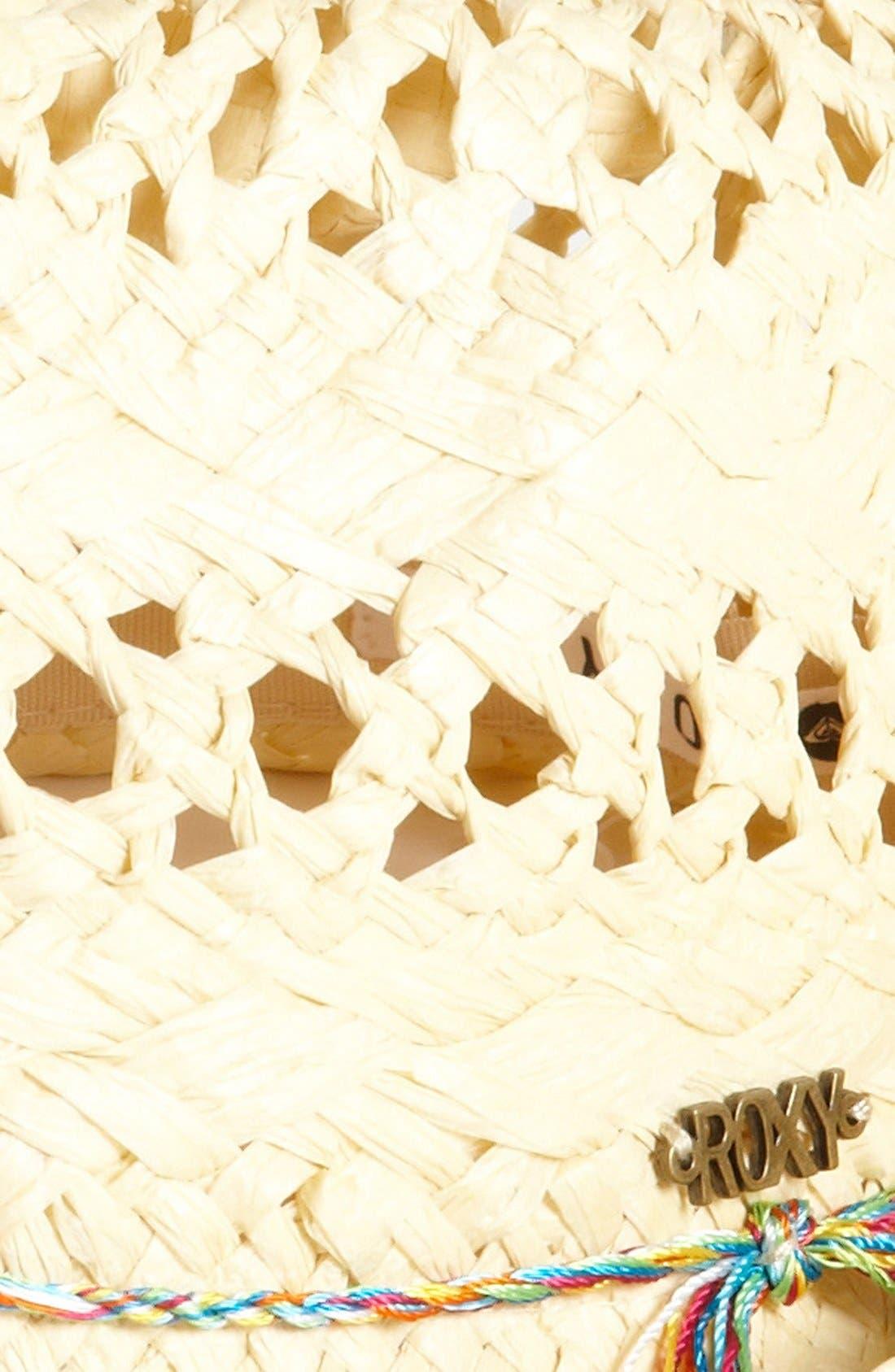 Alternate Image 2  - Straw Fedora (Girls)