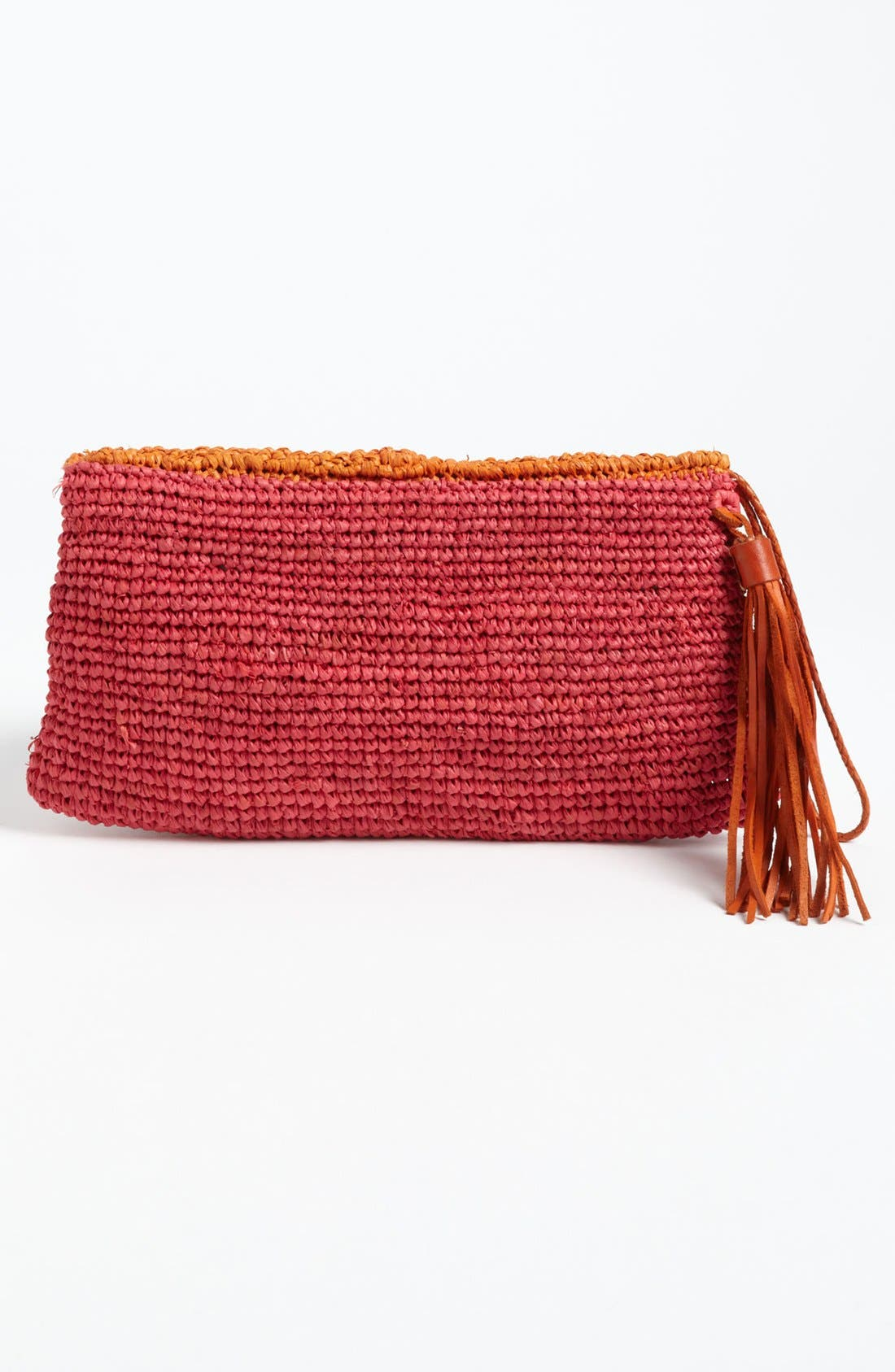 Alternate Image 4  - Mar y Sol 'Camille' Raffia Clutch