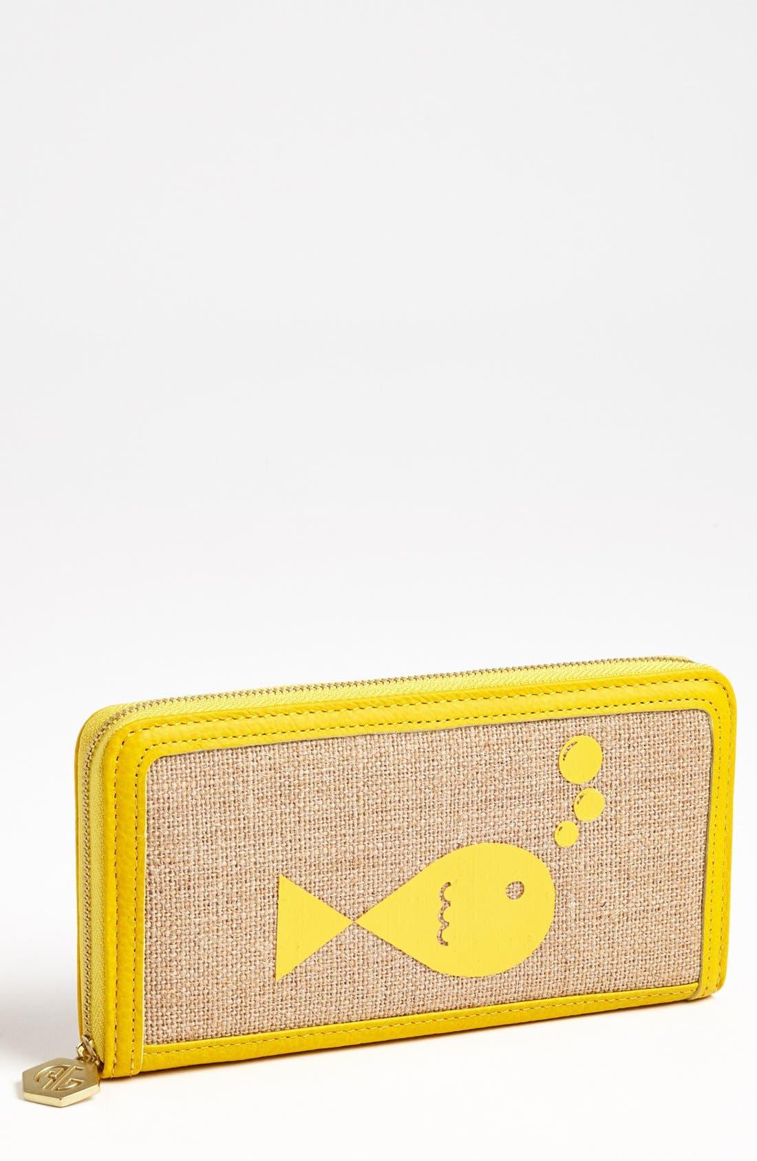 Main Image - Jonathan Adler 'Fish' Continental Wallet