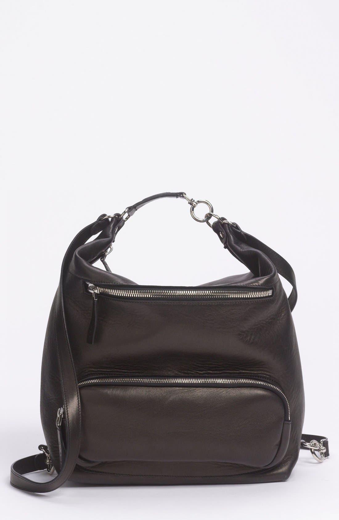 Main Image - Marni Convertible Leather Backpack