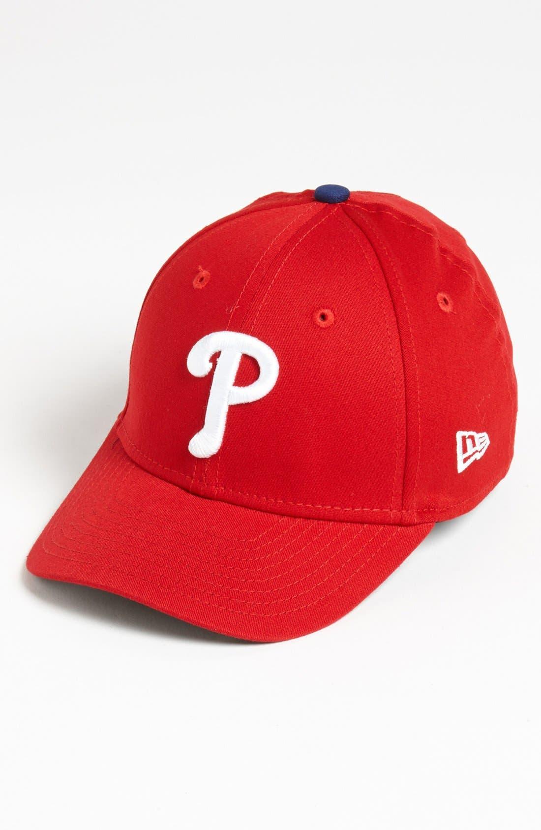 Alternate Image 1 Selected - New Era Cap 'Philadelphia Phillies - Tie Breaker' Baseball Cap (Big Boys)