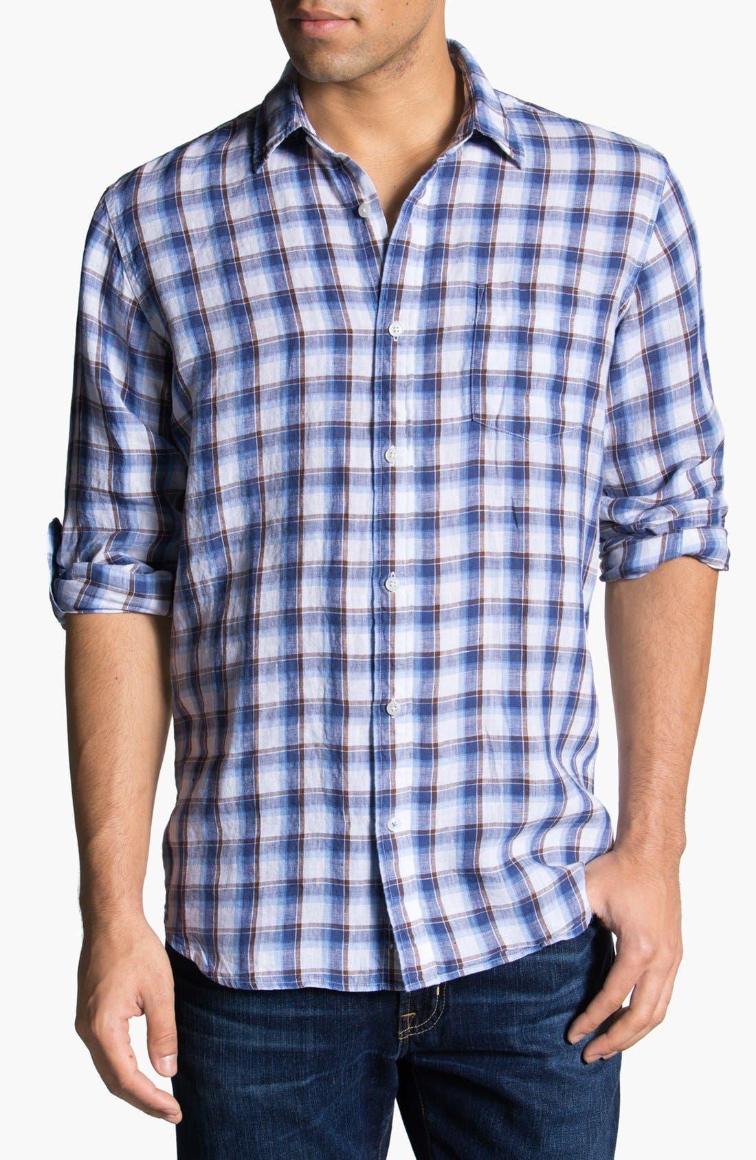 Main Image - Toscano Linen Sport Shirt