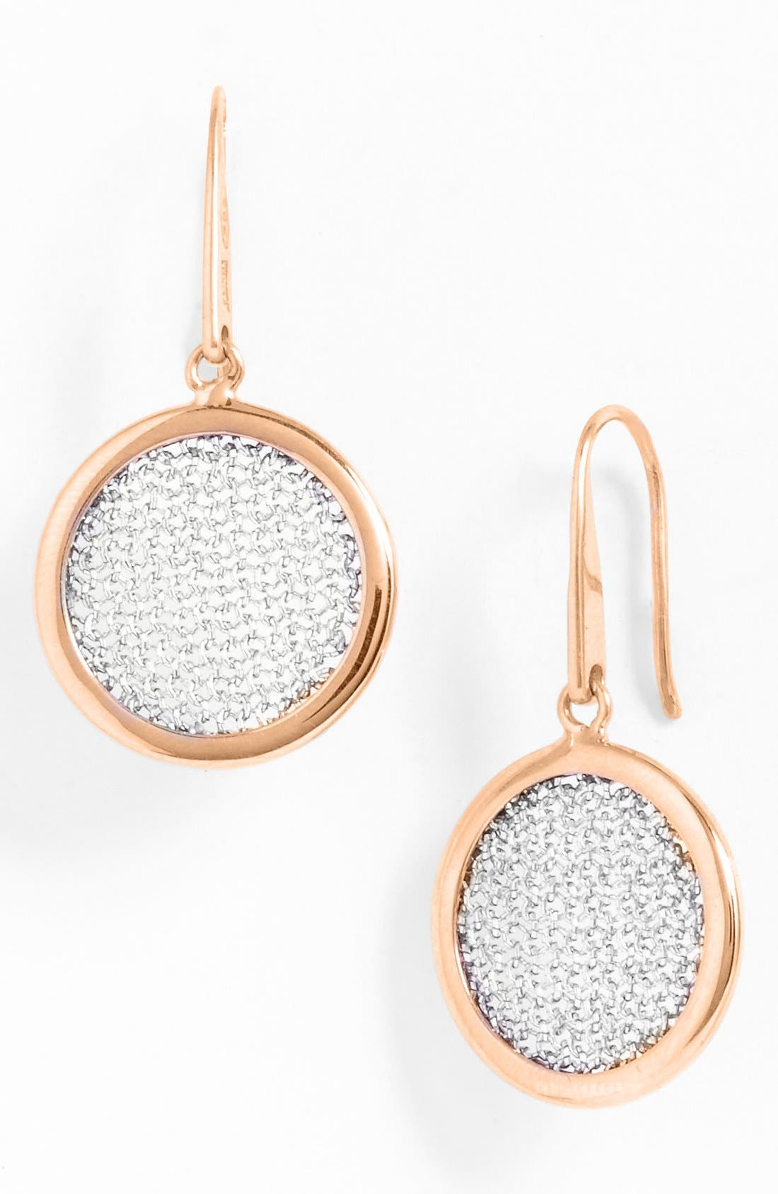 Main Image - Adami & Martucci 'Mesh' Round Drop Earrings (Nordstrom Exclusive)