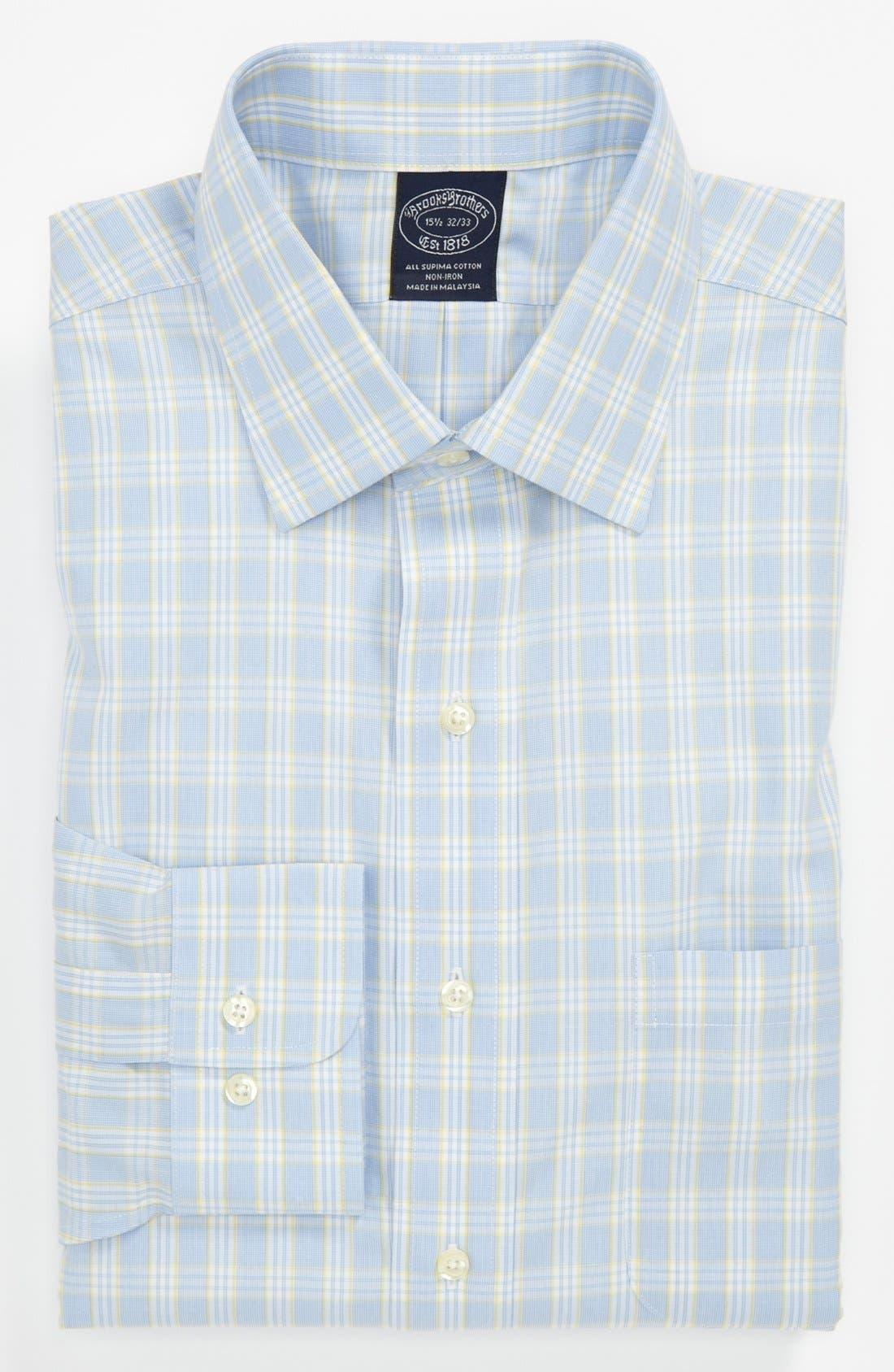 Main Image - Brooks Brothers Slim Fit Non-Iron Dress Shirt