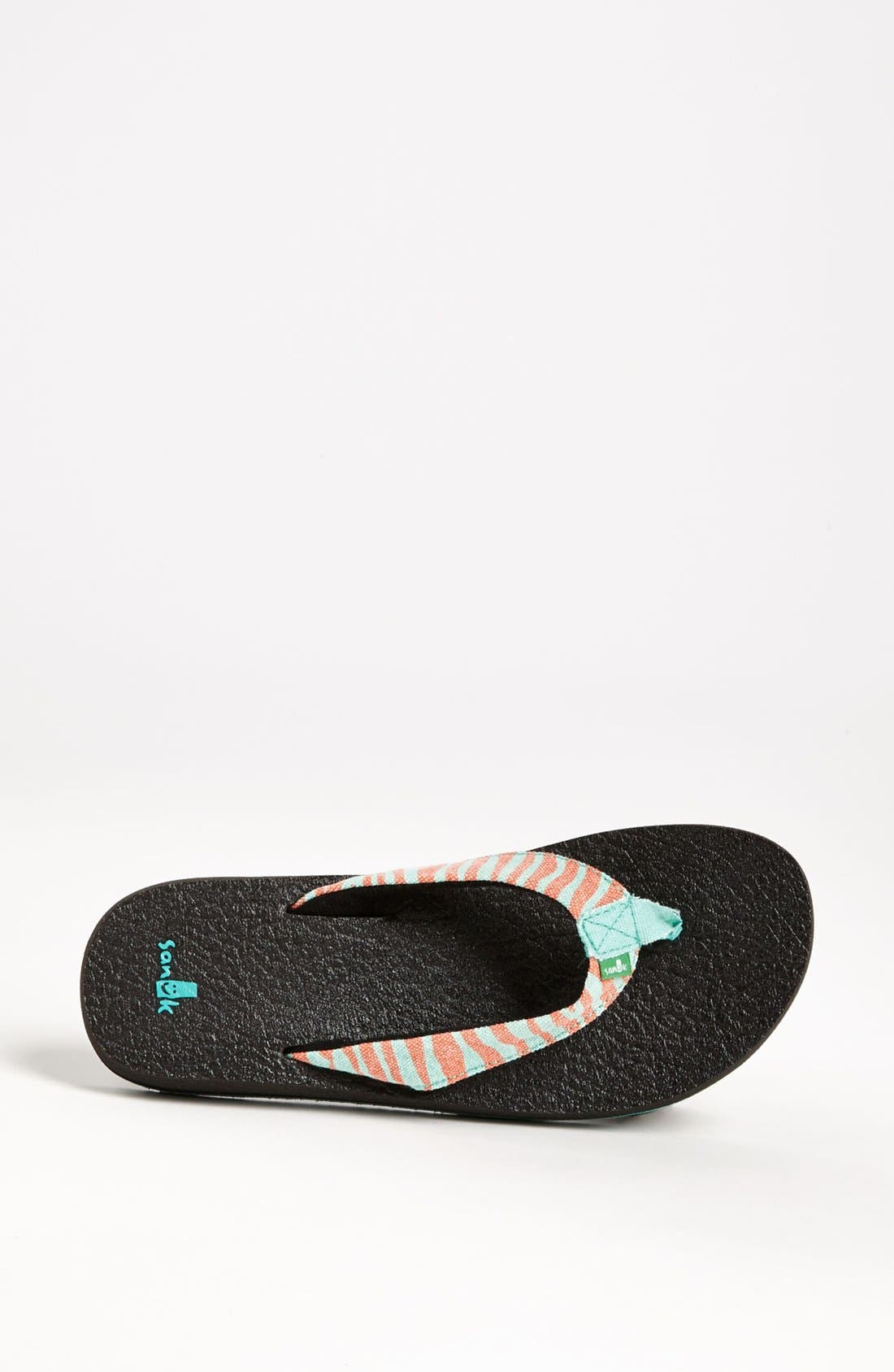 Alternate Image 3  - Sanuk 'Yoga Wildlife' Flip Flop (Women)