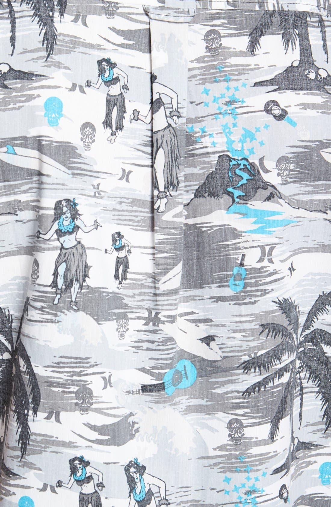 Alternate Image 2  - Hurley 'Suarez' Print Woven Shirt