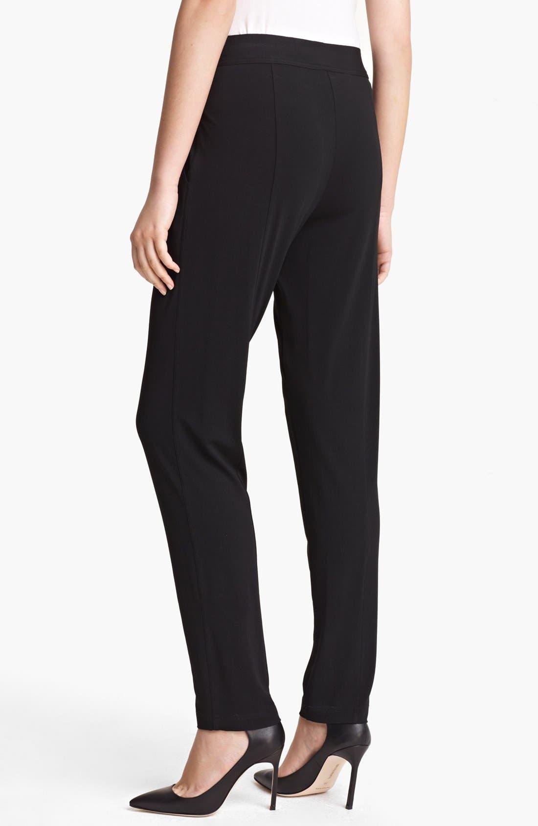 Alternate Image 2  - Donna Karan New York Fluid Jersey Pants