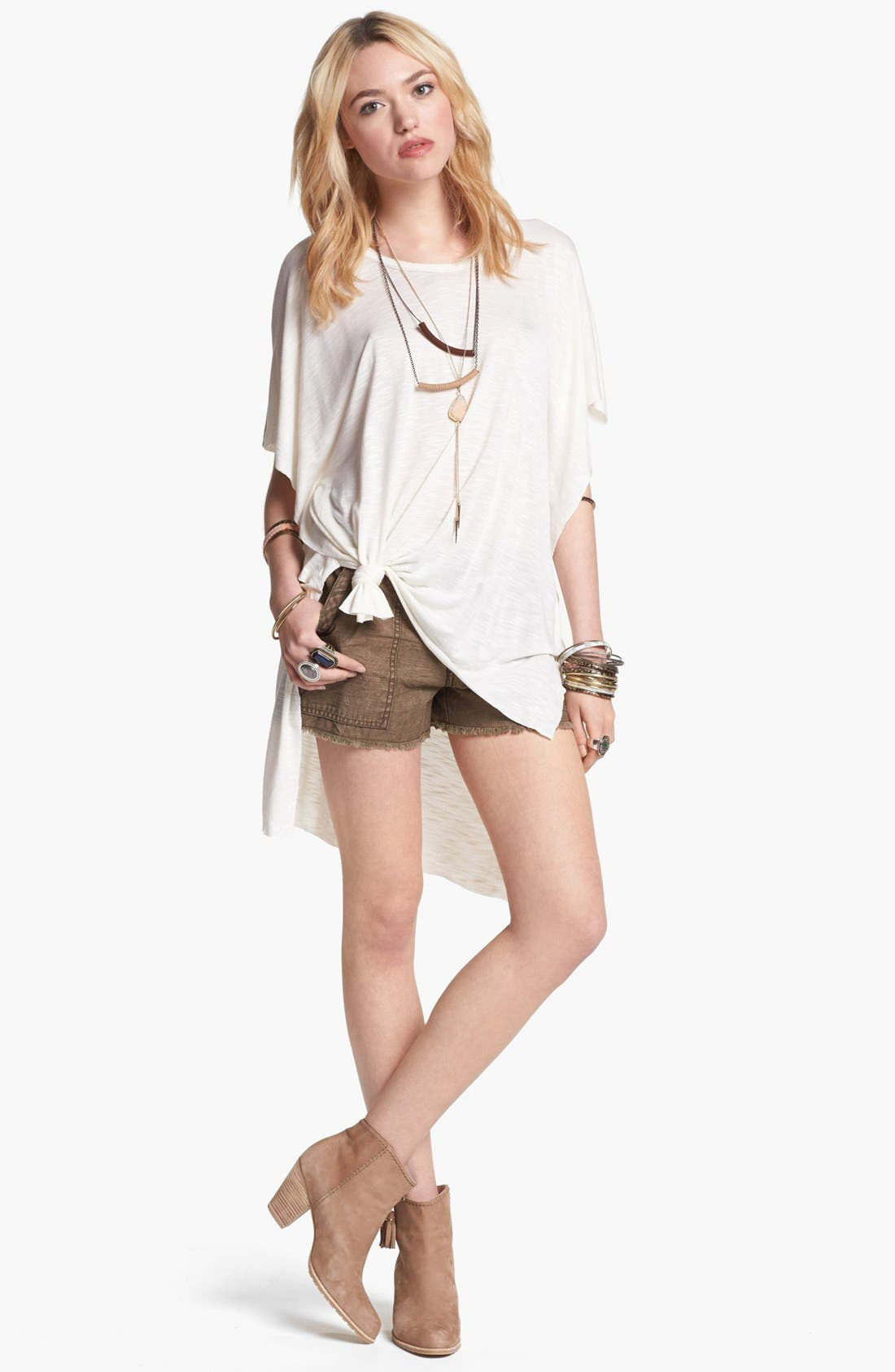 Alternate Image 1 Selected - Free People Tee & Shorts