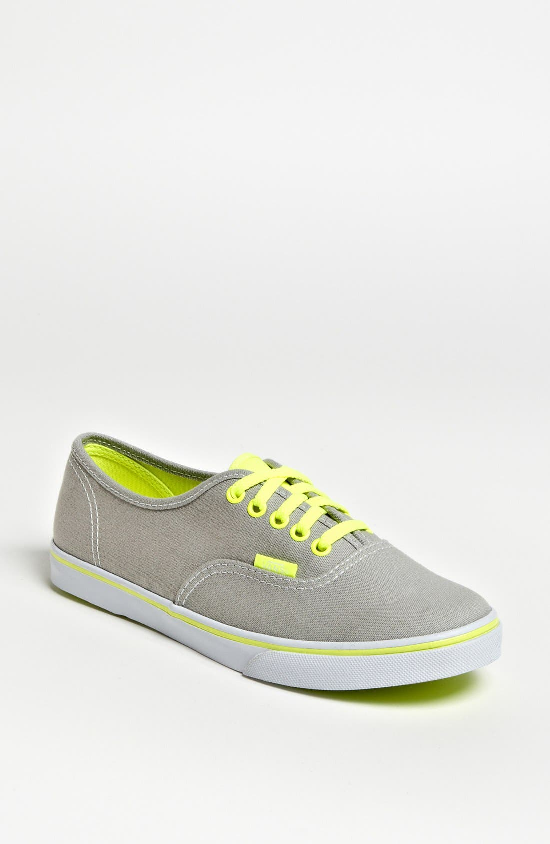 Alternate Image 1 Selected - Vans 'Authentic Lo Pro - Neon' Sneaker (Women)