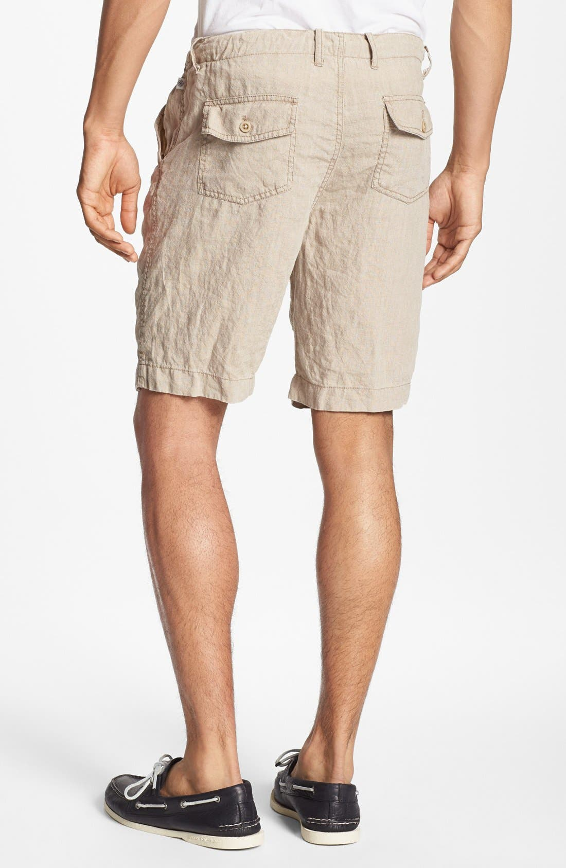 Alternate Image 2  - Shirt by Shirt 'Guam' Linen Shorts