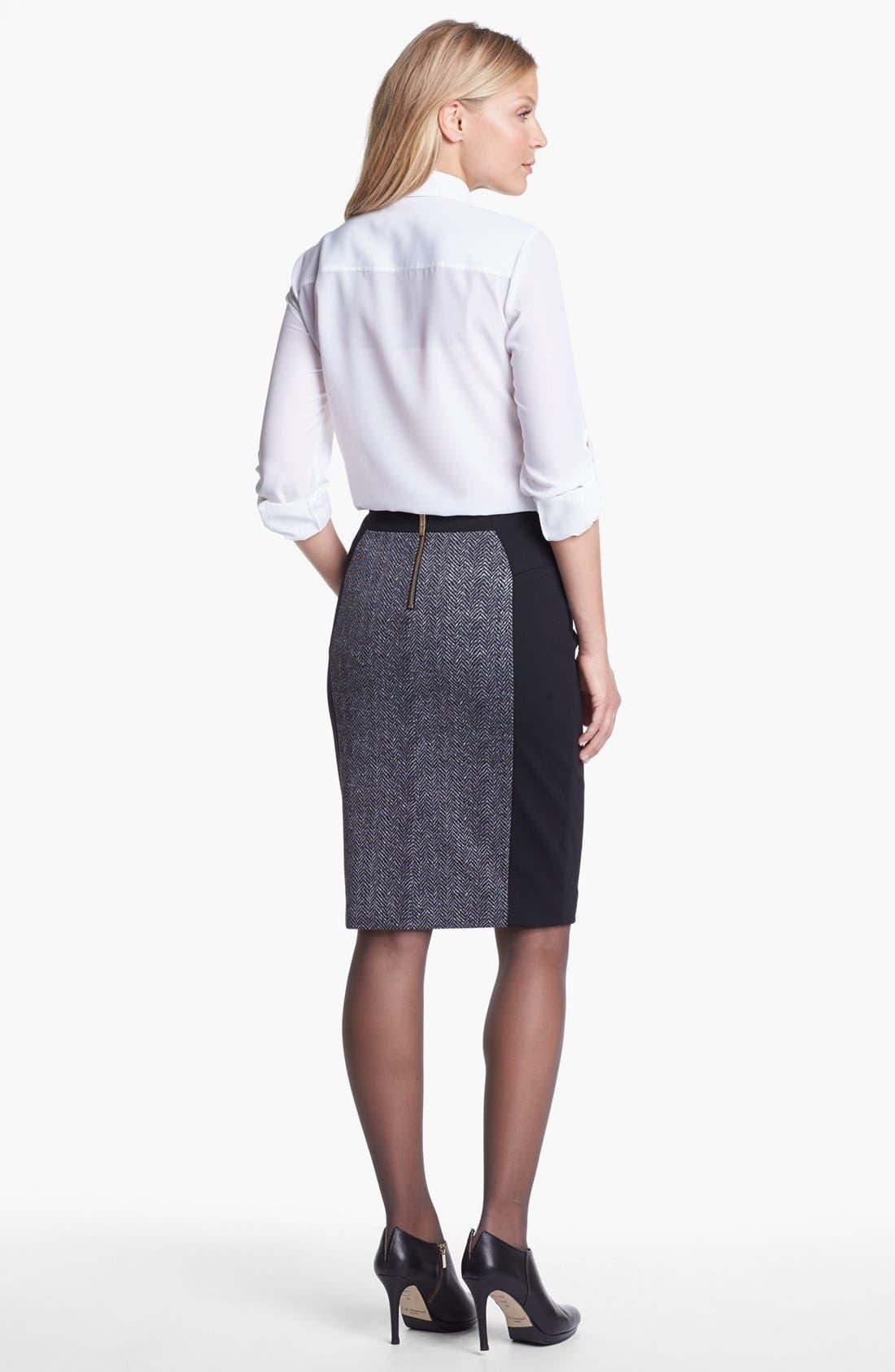 Alternate Image 2  - MICHAEL Michael Kors Blouse & Skirt