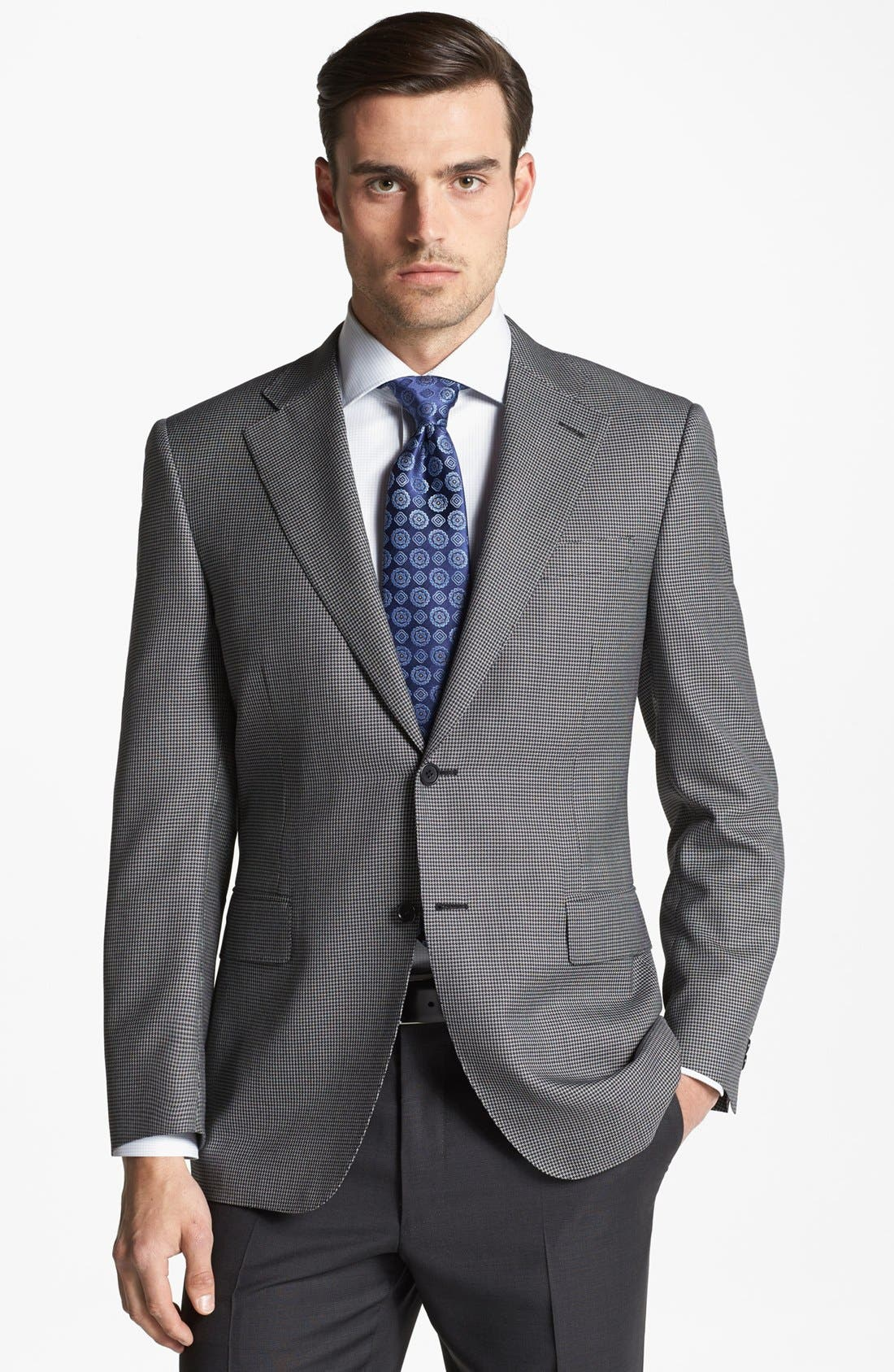 Alternate Image 1 Selected - Canali Houndstooth Sportcoat