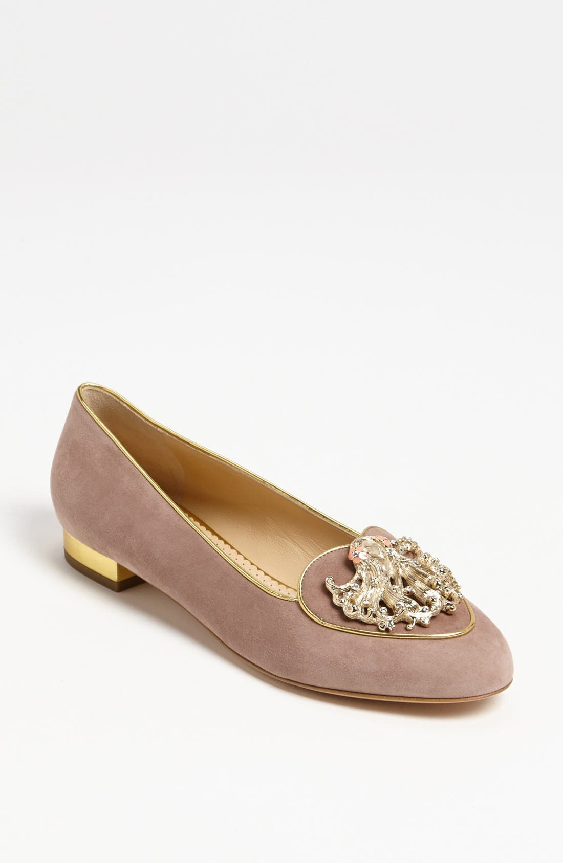 Alternate Image 1 Selected - Charlotte Olympia 'Virgo' Flat