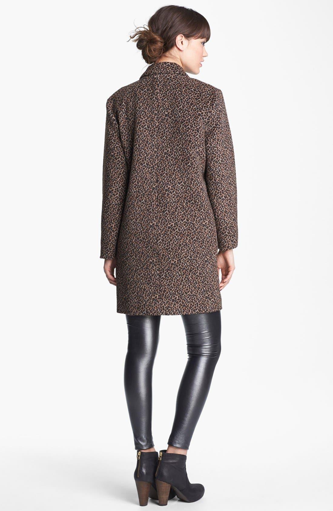 Alternate Image 2  - Tulle Coat, C+B Tank & Mimi Chica Leggings