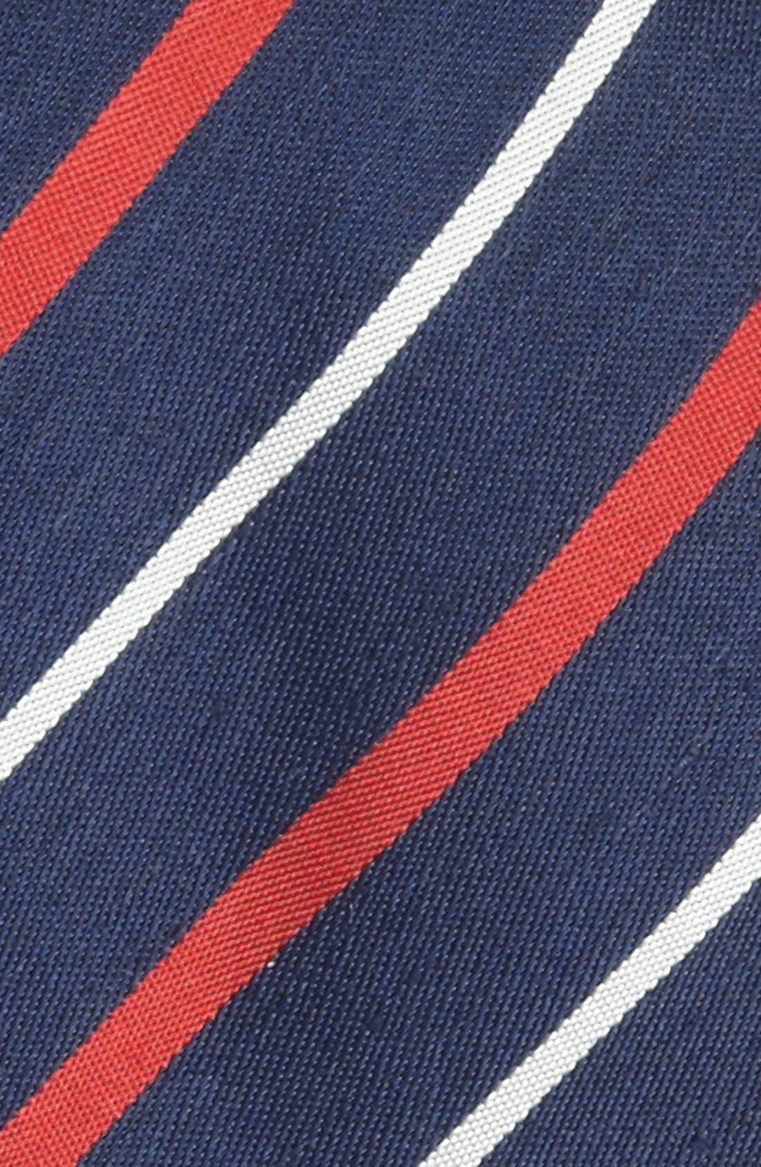 Alternate Image 2  - BOSS HUGO BOSS Woven Linen & Silk Tie