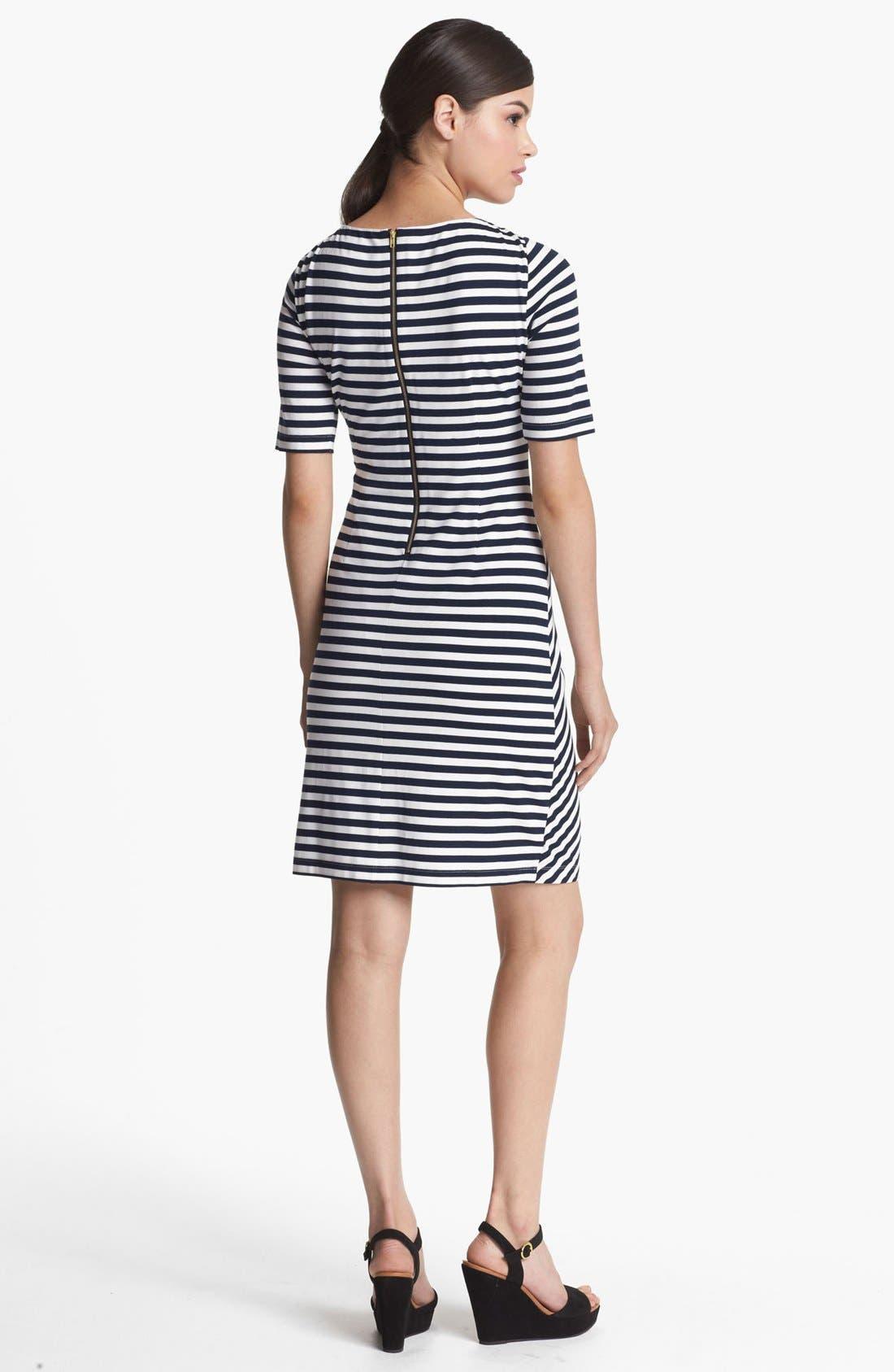 Alternate Image 2  - Tahari Stripe Jersey Sheath Dress