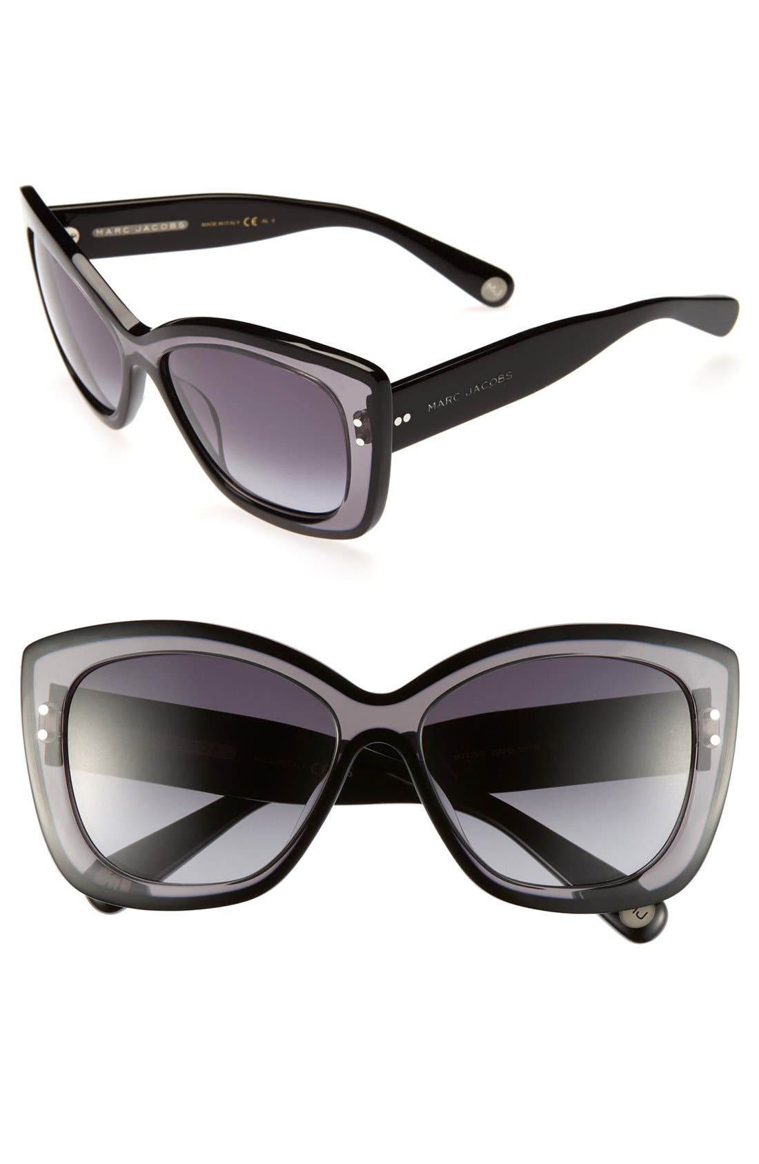 Main Image - MARC JACOBS 58mm Retro Sunglasses