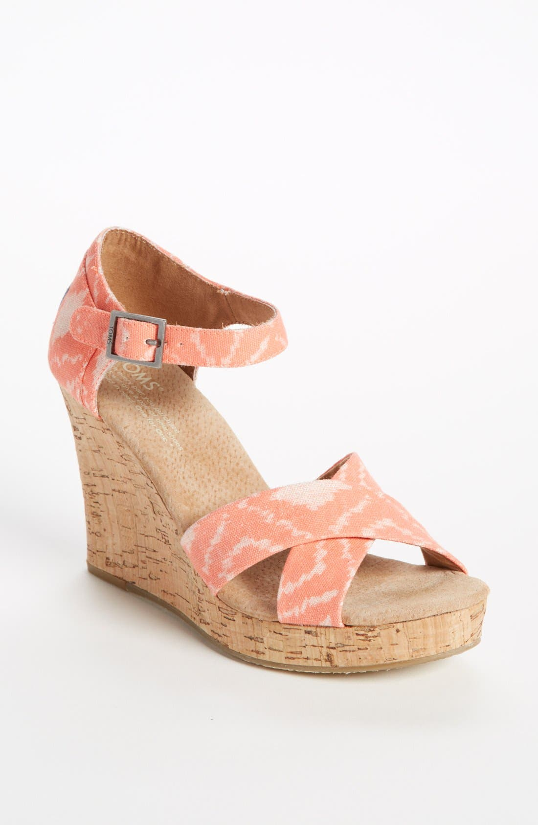 Alternate Image 1 Selected - TOMS 'Geometric Ikat' Wedge
